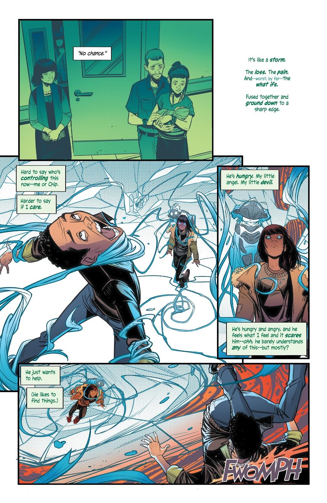 Read online Alienated comic -  Issue #3 - 16
