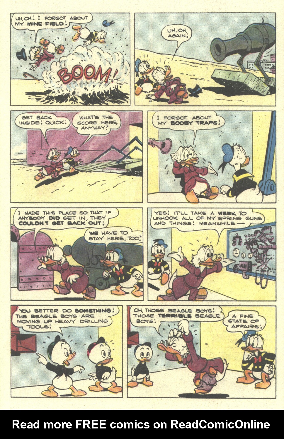 Read online Uncle Scrooge (1953) comic -  Issue #212 - 29