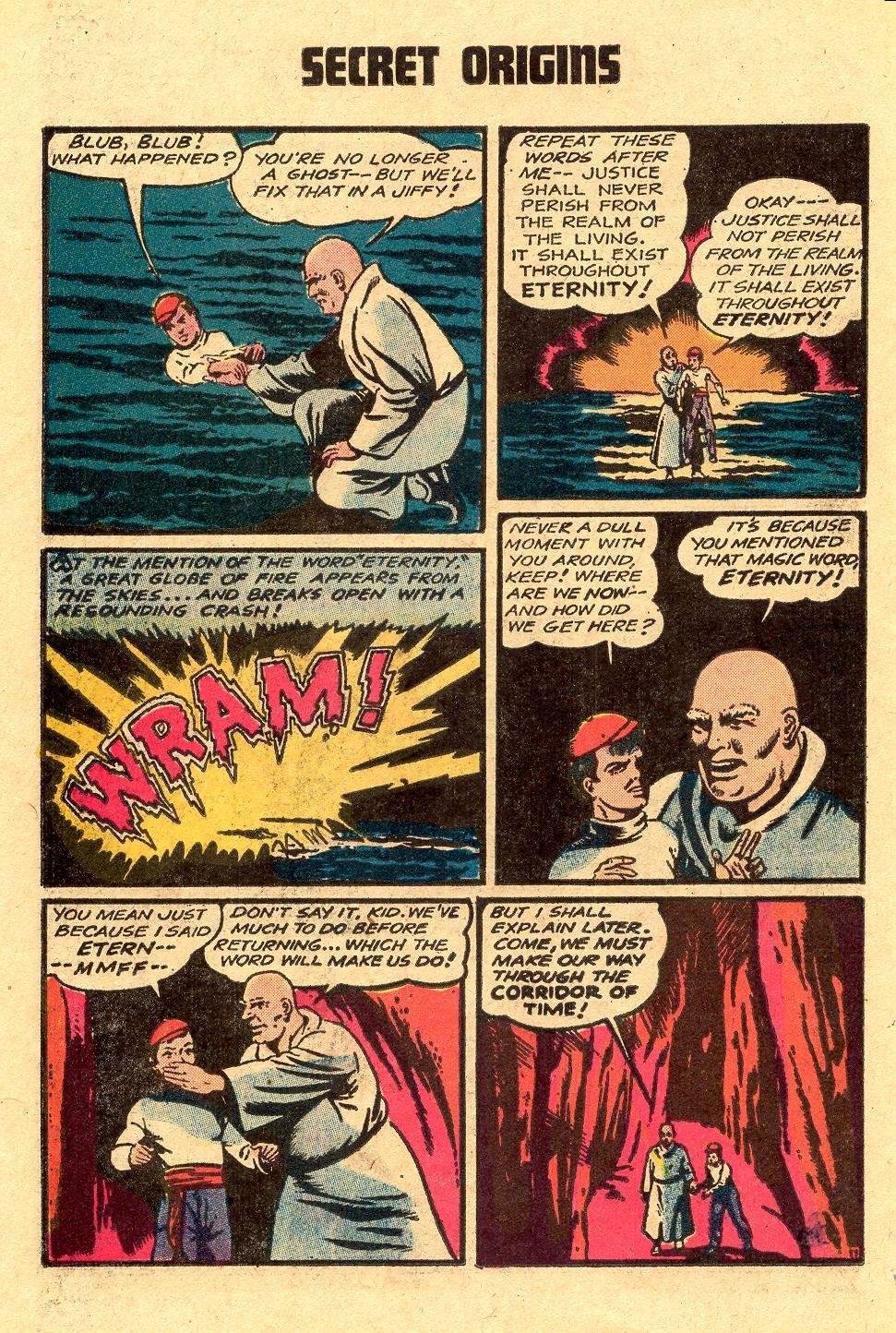 Read online Secret Origins (1973) comic -  Issue #4 - 26
