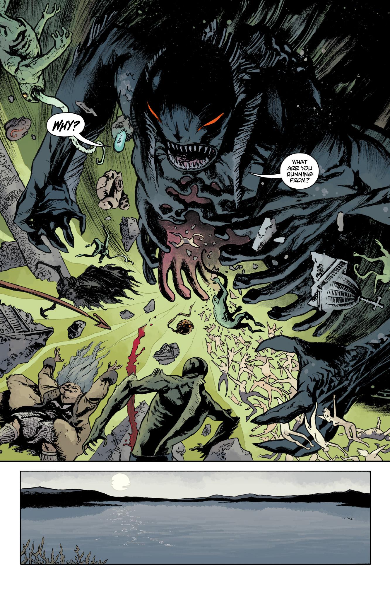 Read online Abe Sapien comic -  Issue #14 - 22