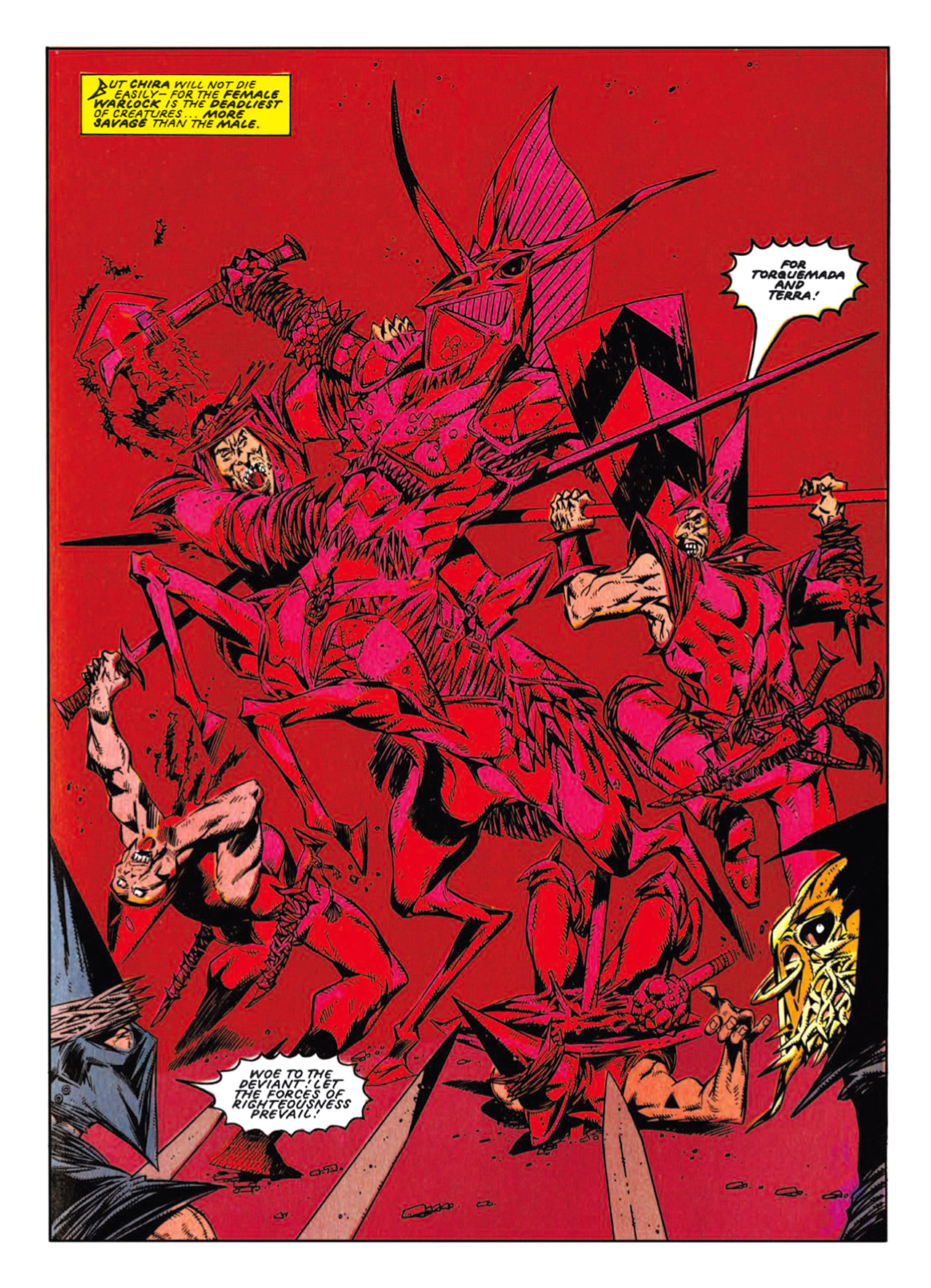 Read online Nemesis The Warlock comic -  Issue # TPB Deviant Edition - 213