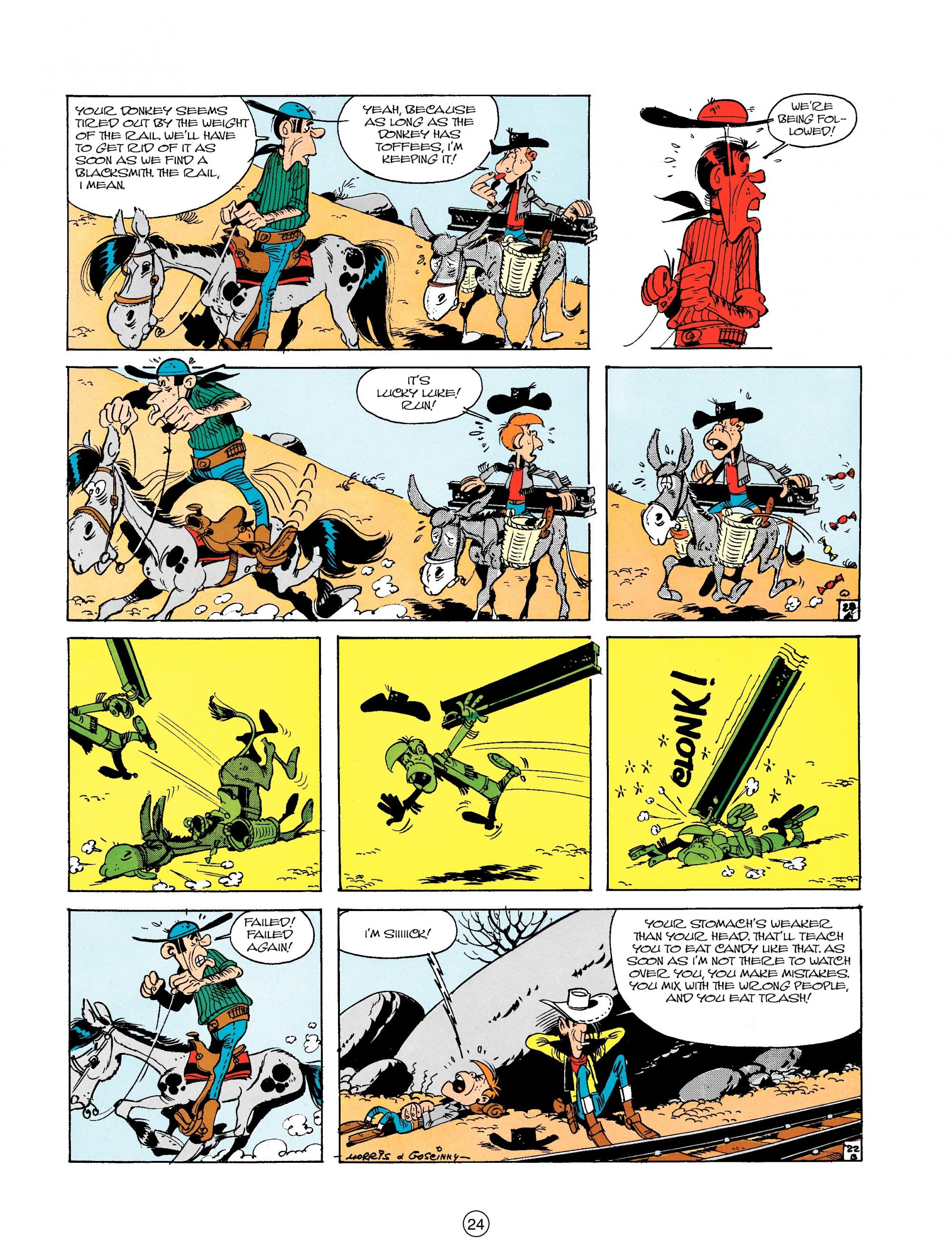 Read online A Lucky Luke Adventure comic -  Issue #18 - 24
