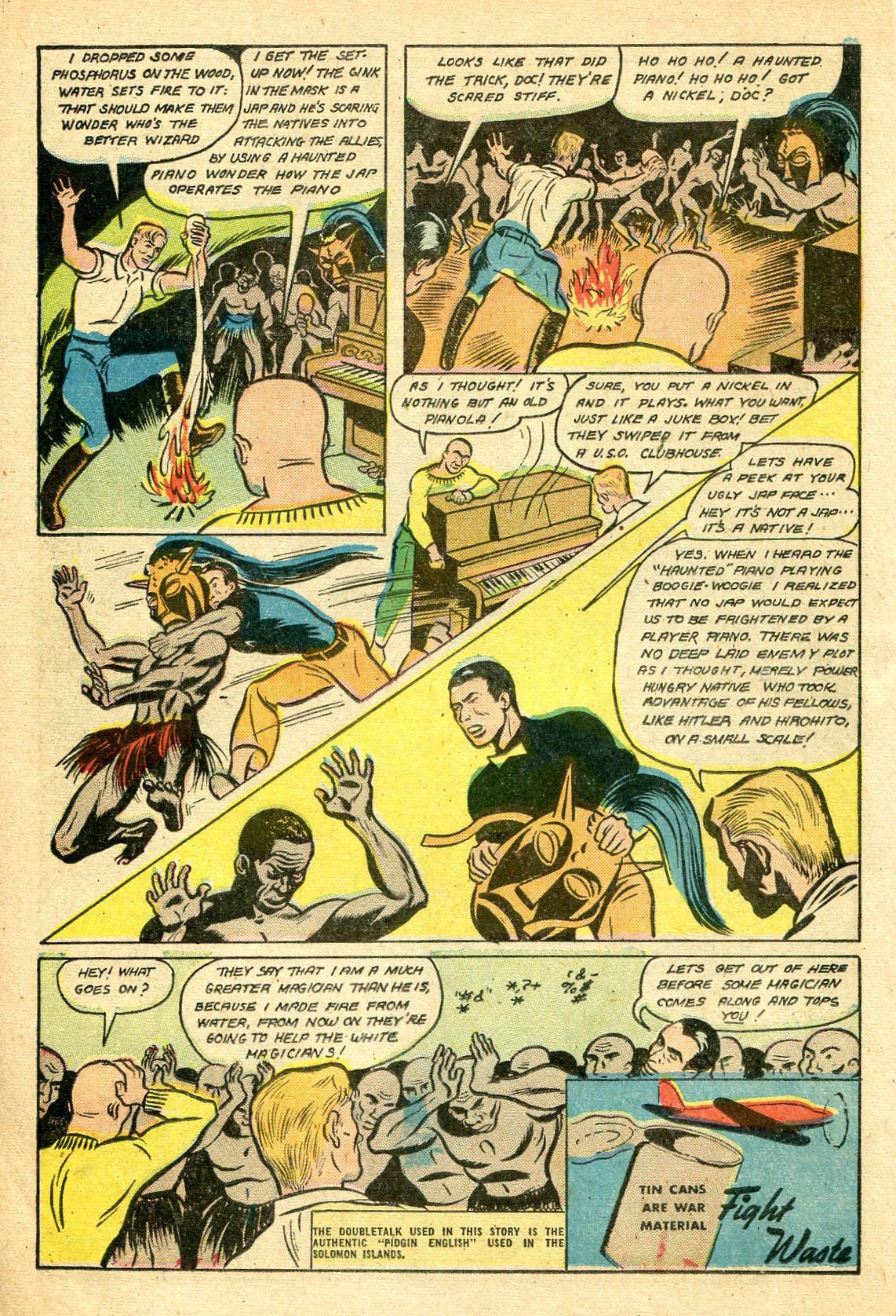 Read online Shadow Comics comic -  Issue #44 - 31