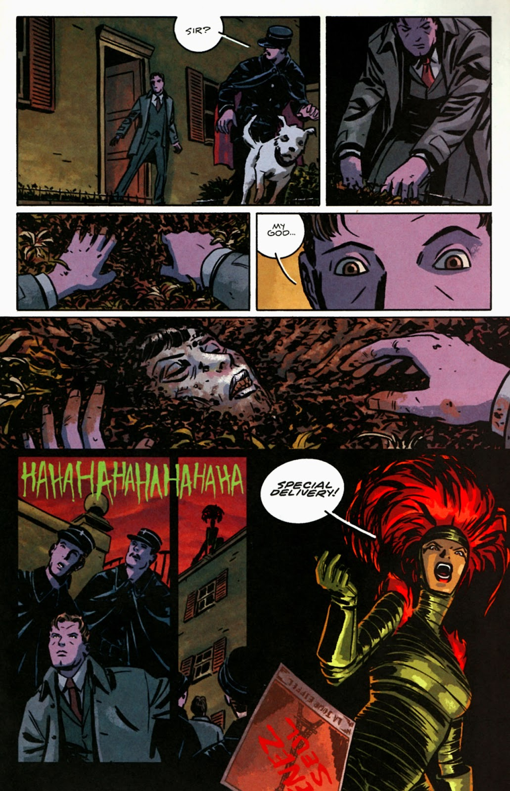 Read online Beware The Creeper (2003) comic -  Issue #5 - 13