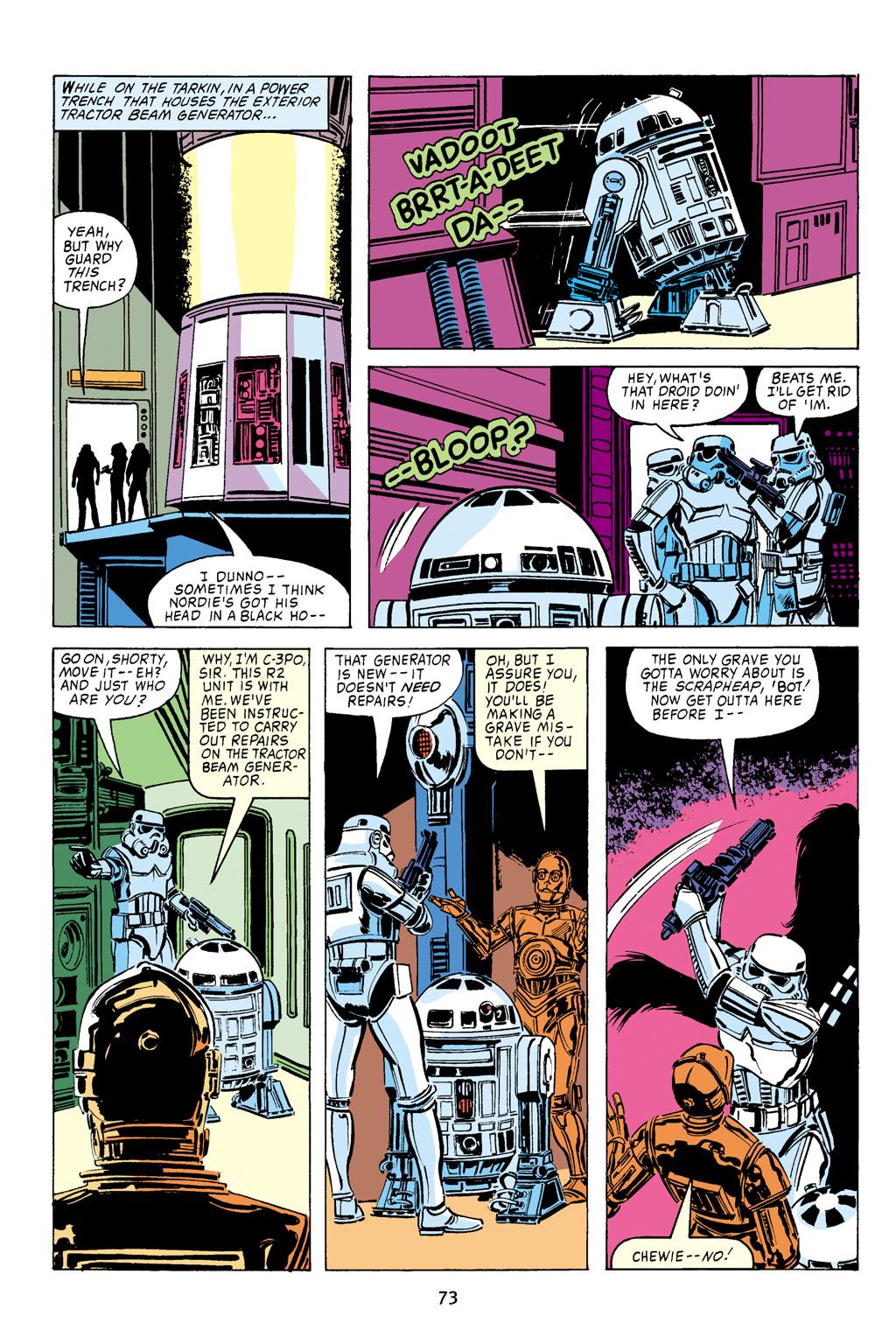 Read online Star Wars Omnibus comic -  Issue # Vol. 16 - 73