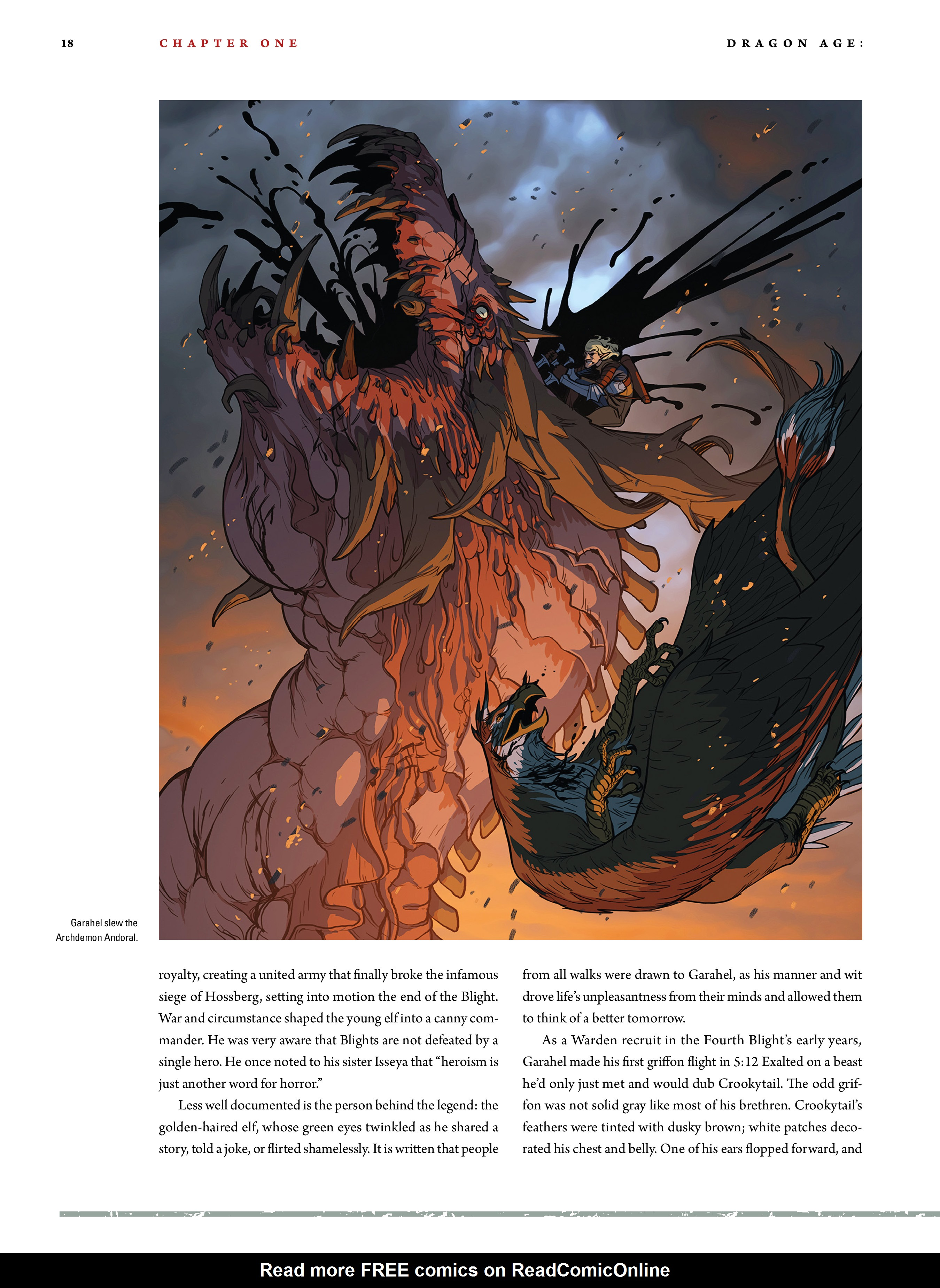 Read online Dragon Age: The World of Thedas comic -  Issue # TPB 2 - 16