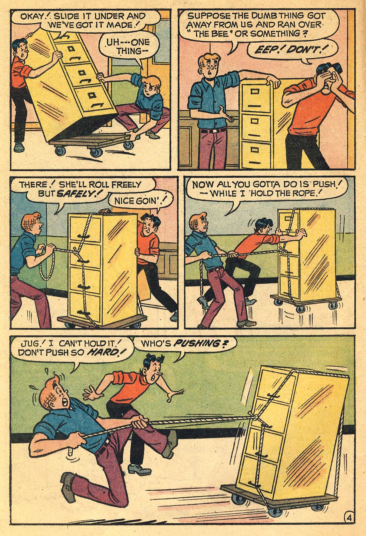 Read online Archie (1960) comic -  Issue #224 - 16