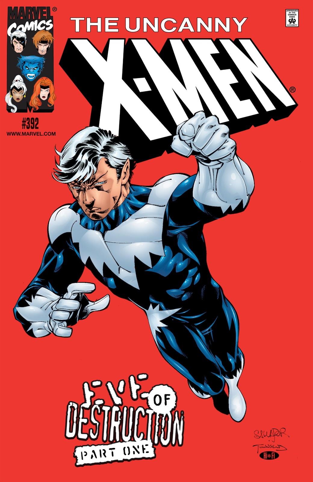 Uncanny X-Men (1963) 392 Page 1