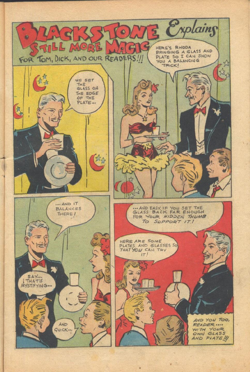 Read online Super-Magician Comics comic -  Issue #37 - 16