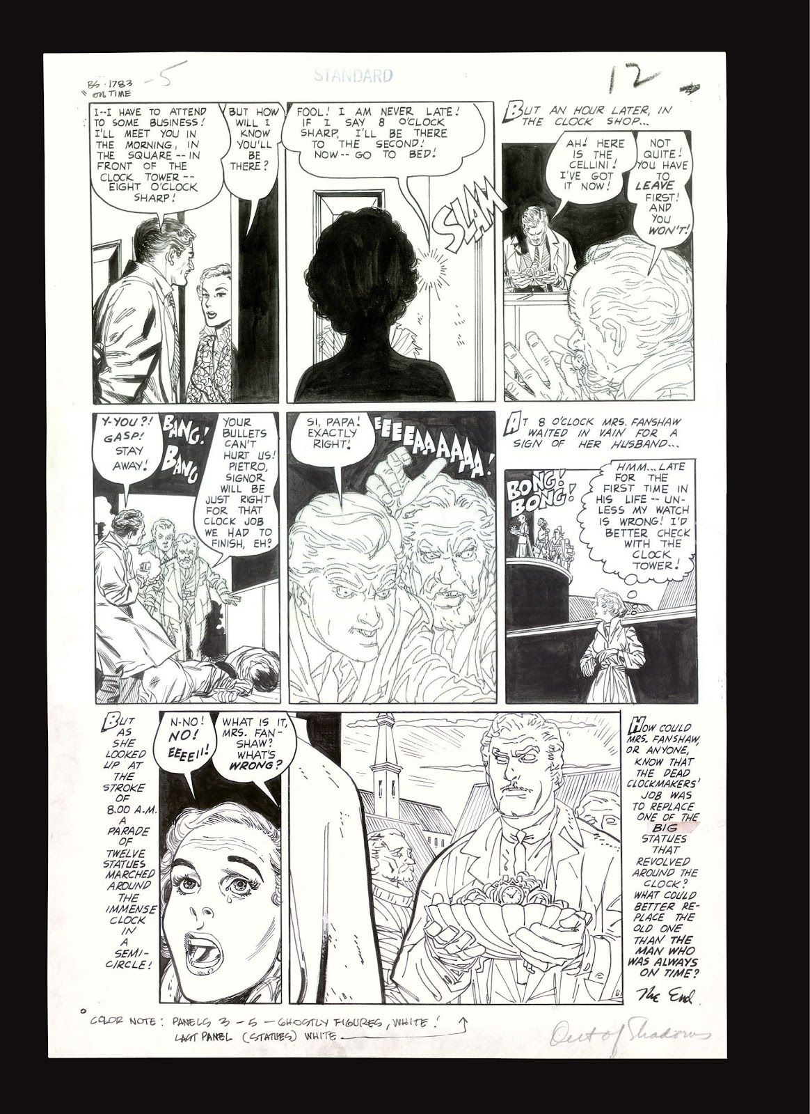 Read online Setting the Standard: Comics by Alex Toth 1952-1954 comic -  Issue # TPB (Part 4) - 133