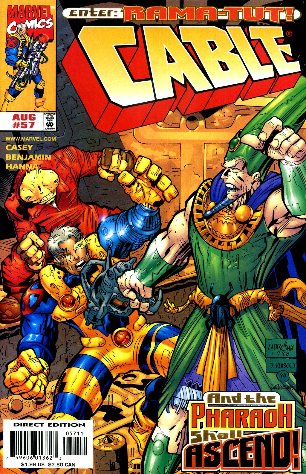 Cable (1993) 57 Page 1