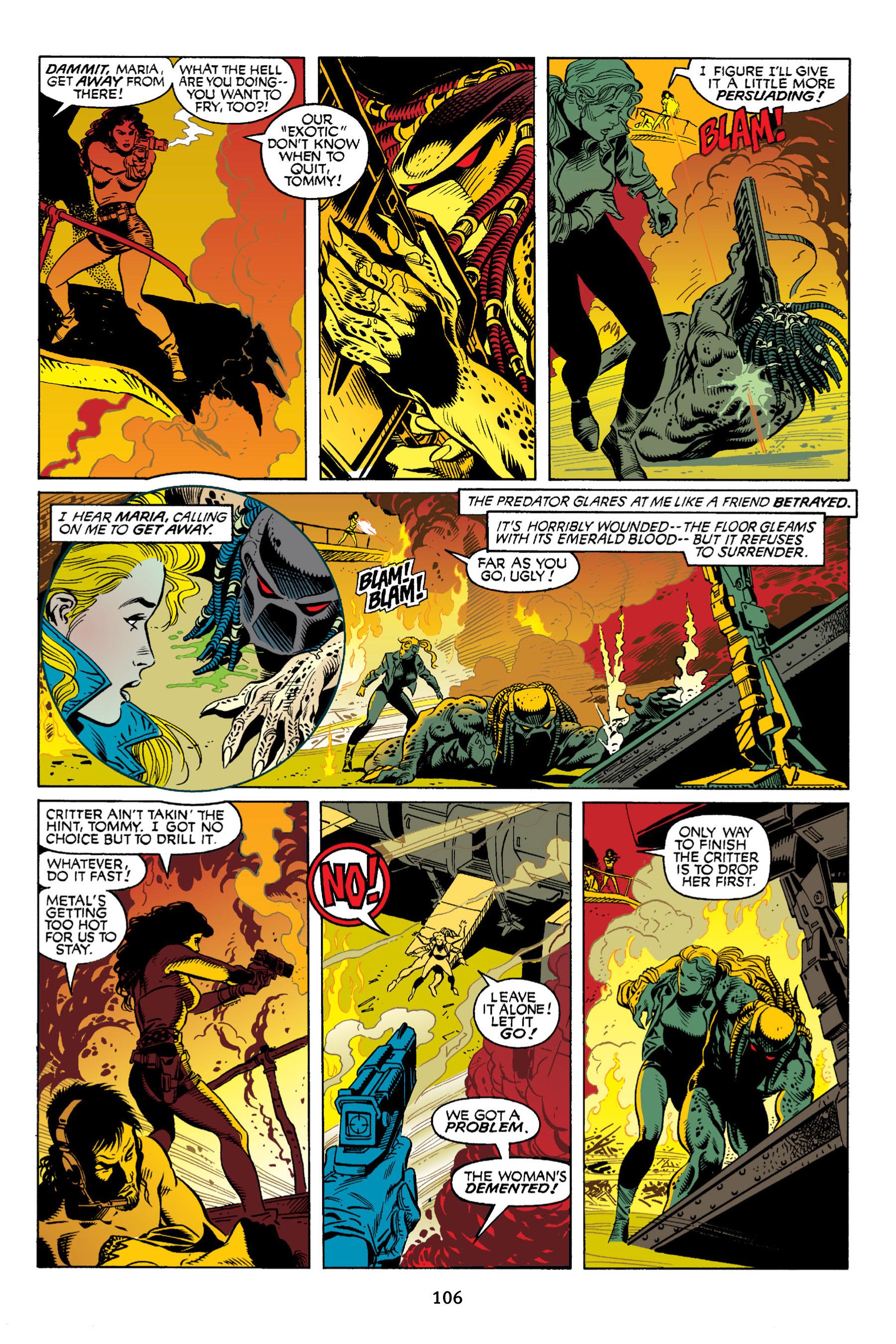 Read online Aliens vs. Predator Omnibus comic -  Issue # _TPB 2 Part 1 - 105