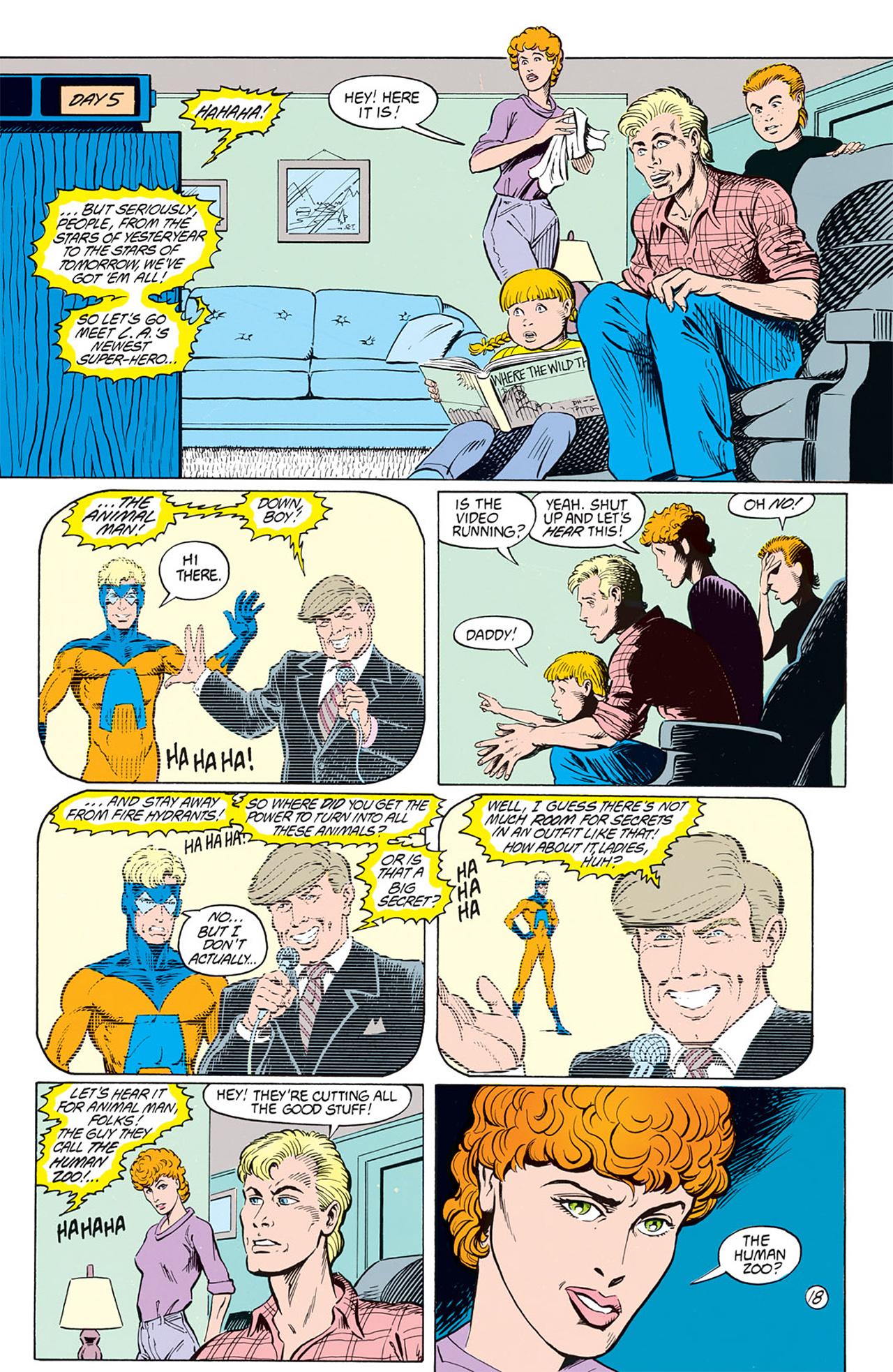 Read online Animal Man (1988) comic -  Issue #1 - 20