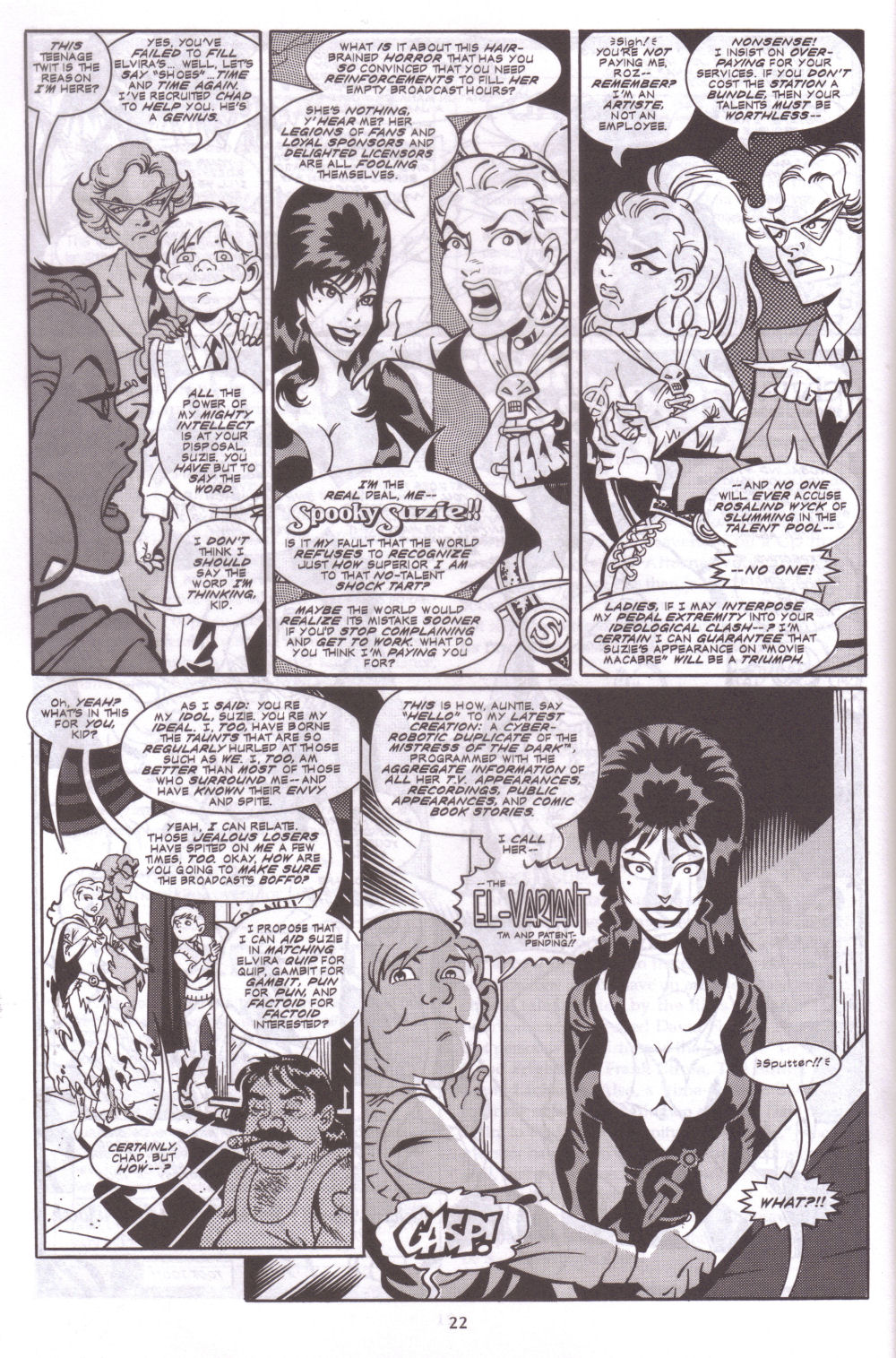 Read online Elvira, Mistress of the Dark comic -  Issue #127 - 19
