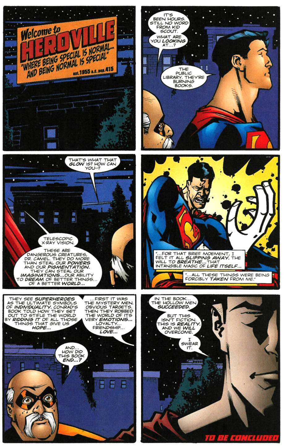 Read online Adventures of Superman (1987) comic -  Issue #615 - 23
