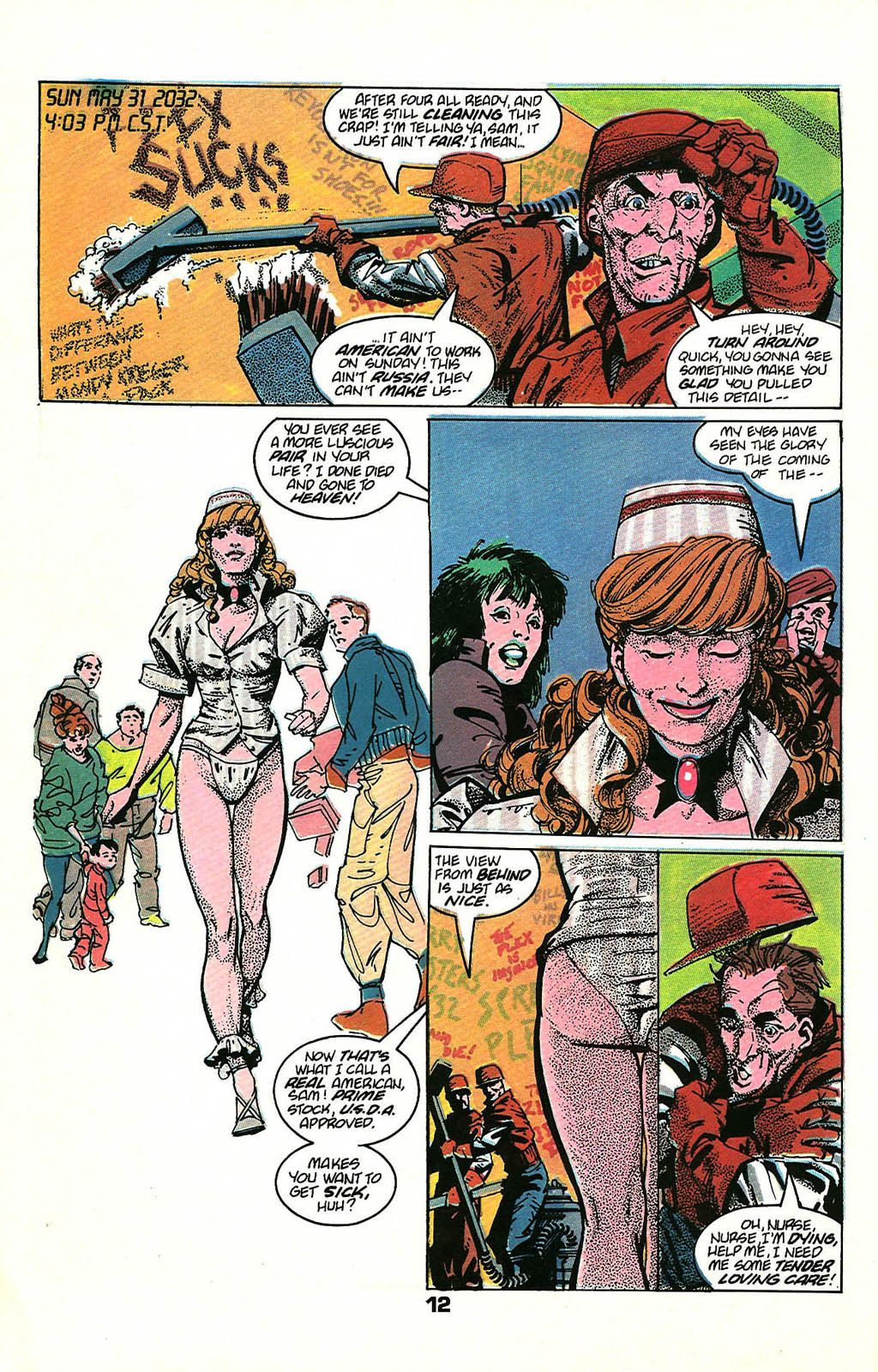 Read online American Flagg! comic -  Issue #48 - 16