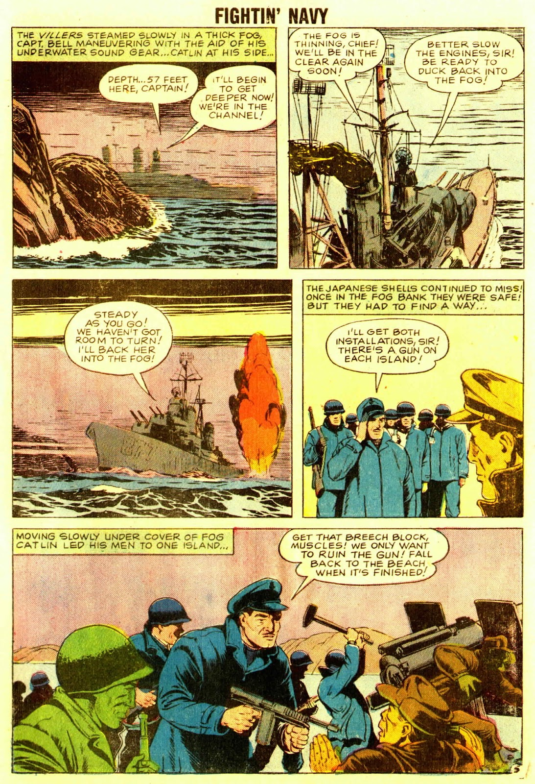 Read online Fightin' Navy comic -  Issue #83 - 71