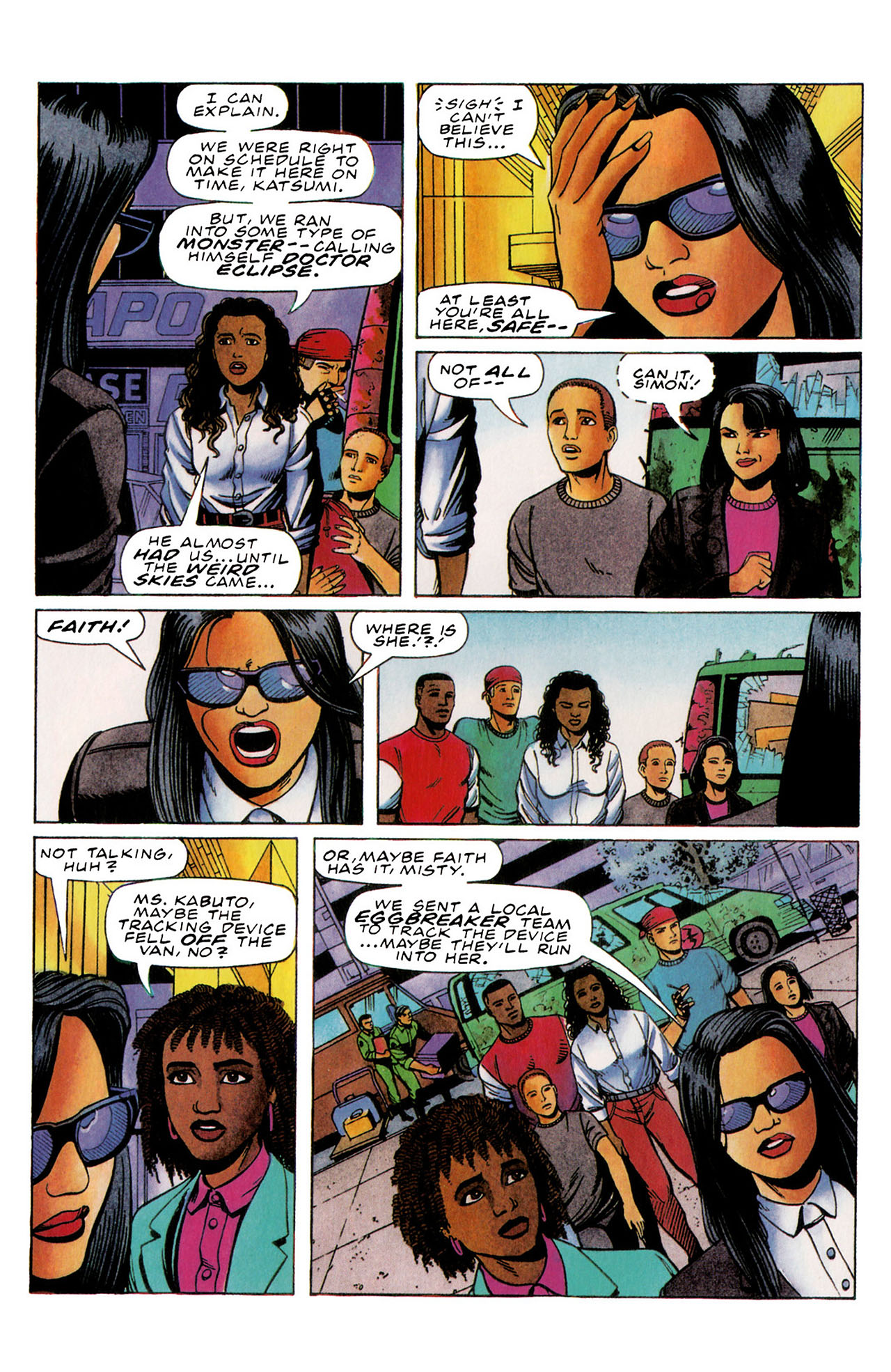 Read online Harbinger (1992) comic -  Issue #35 - 13