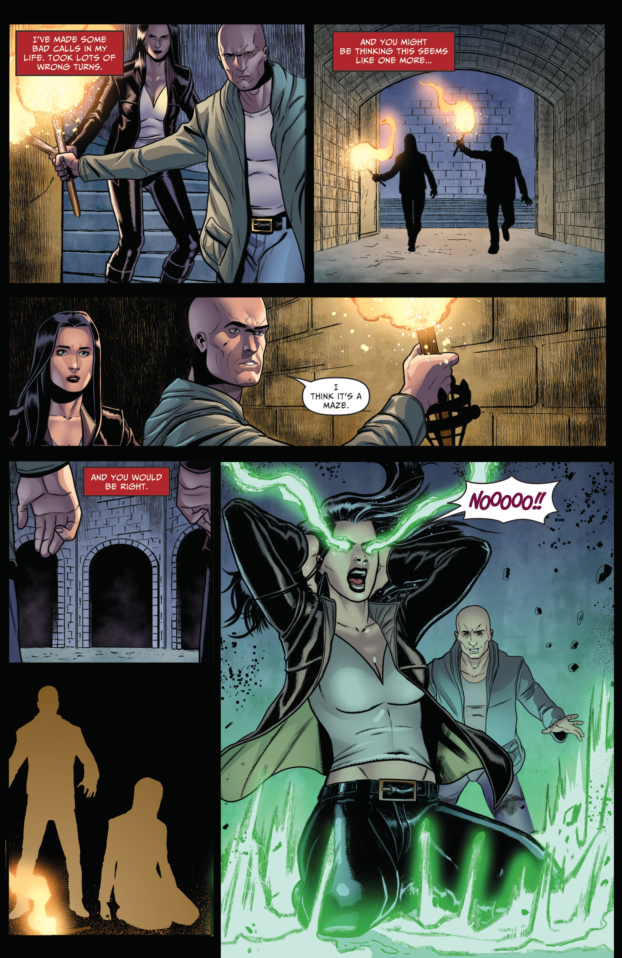 Read online Grimm Fairy Tales: Day of the Dead comic -  Issue #4 - 21