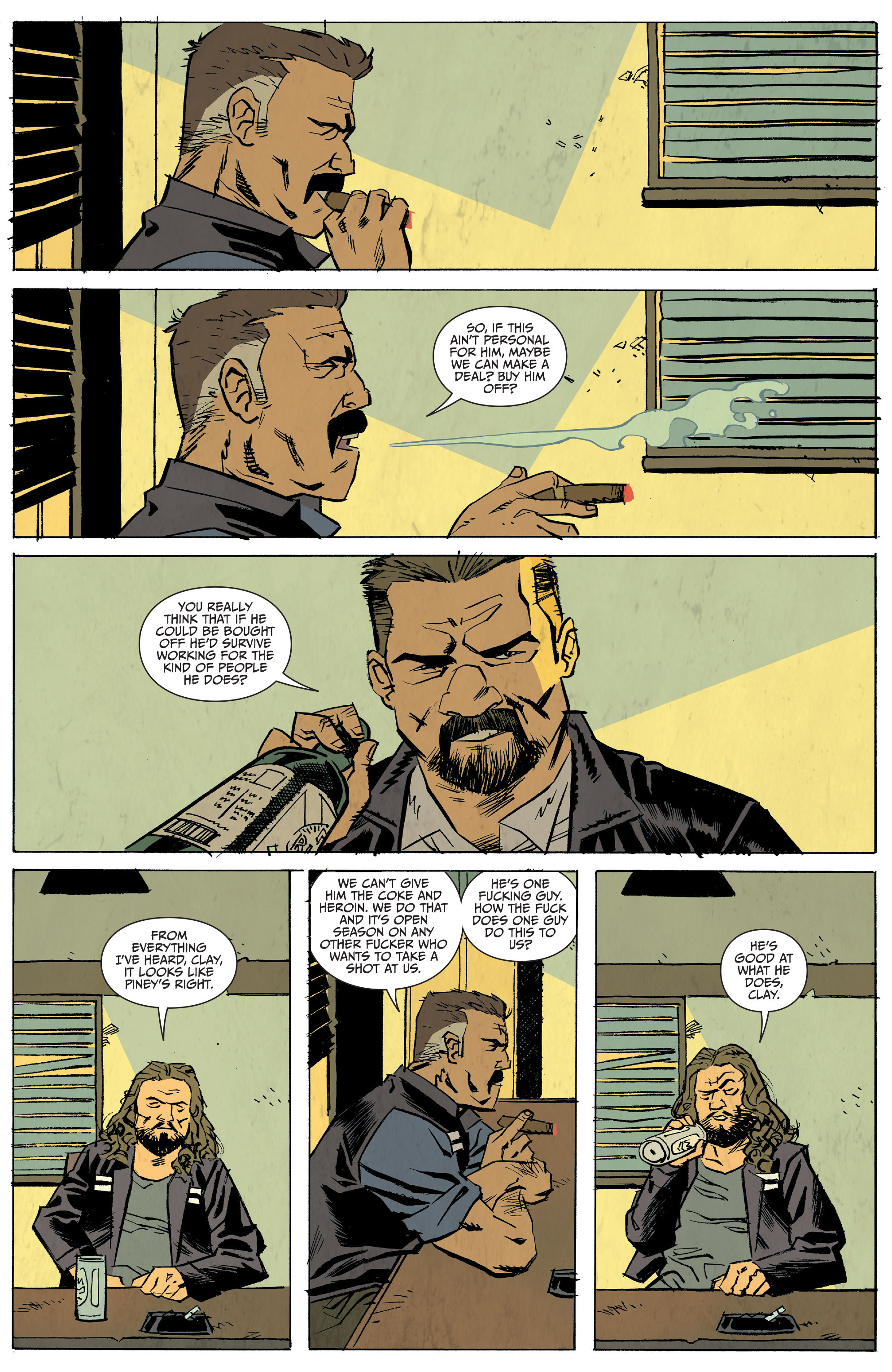 Read online Sons of Anarchy: Redwood Original comic -  Issue #5 - 10