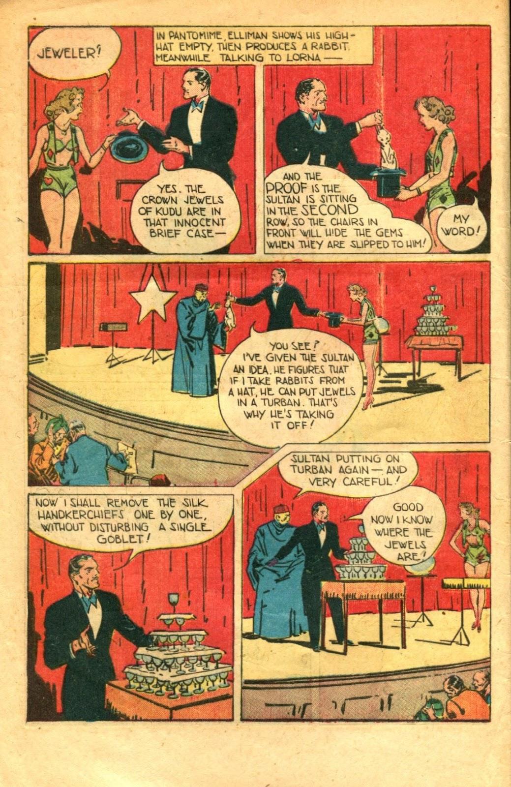 Read online Super-Magician Comics comic -  Issue #48 - 6