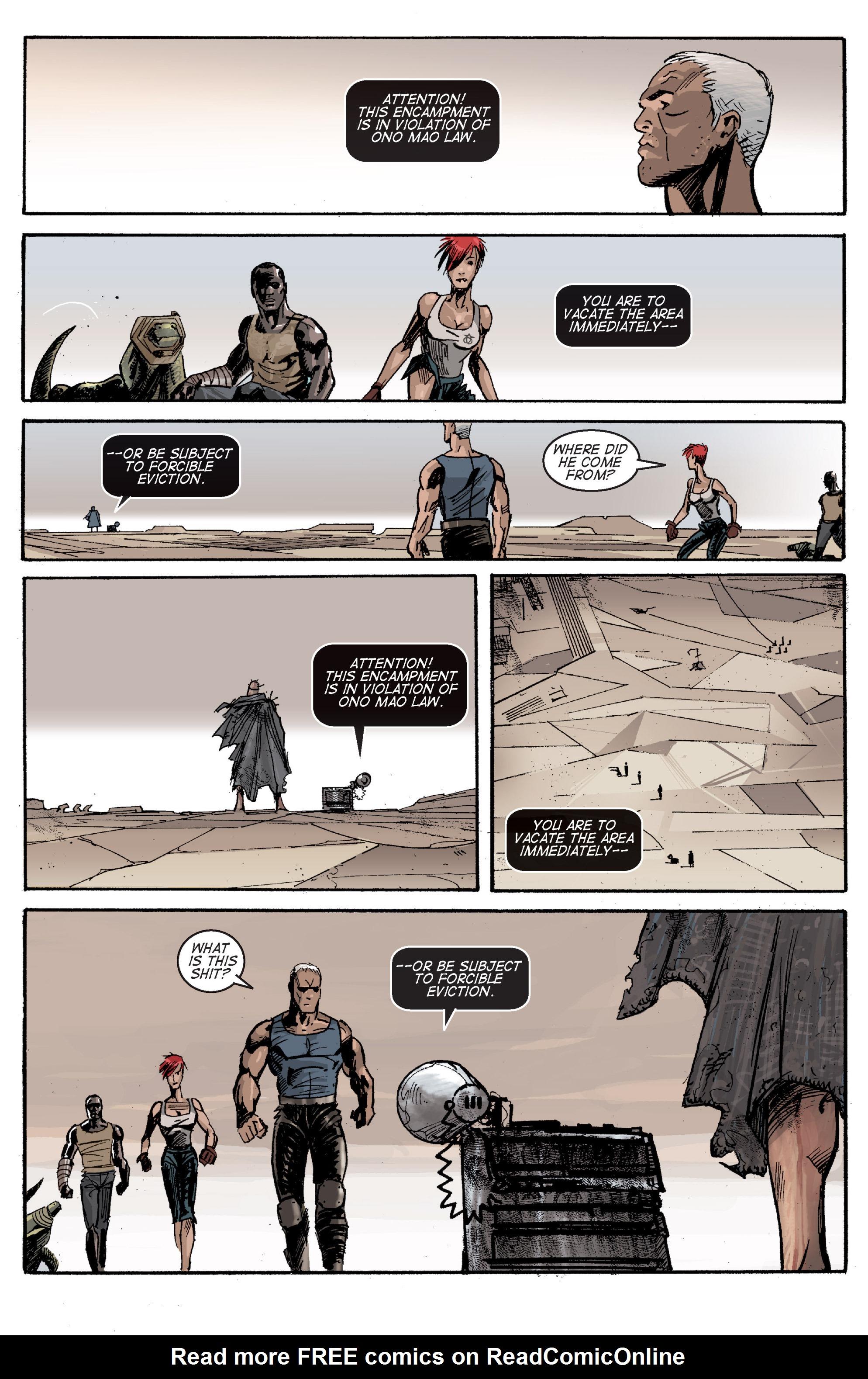 Read online Planetoid comic -  Issue # TPB - 103