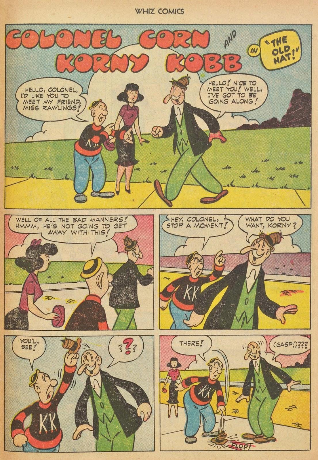 Read online WHIZ Comics comic -  Issue #153 - 25