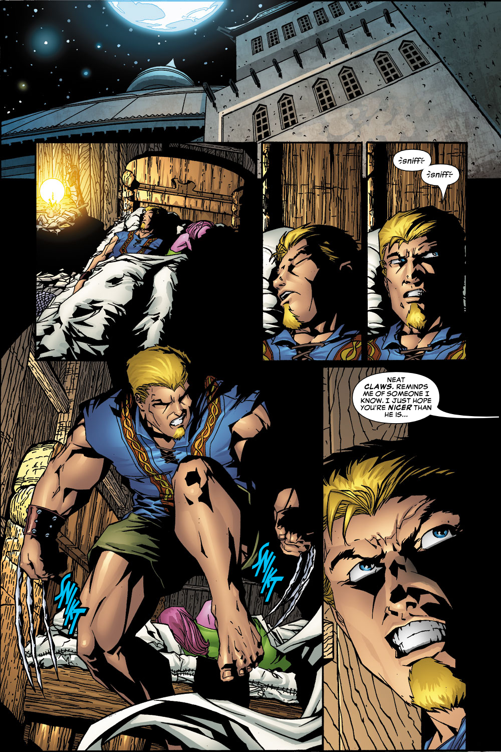 Exiles (2001) Issue #55 #56 - English 8