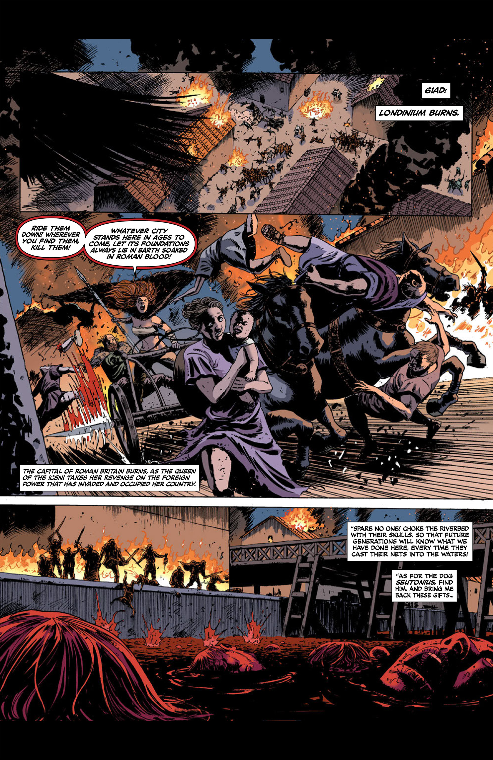 Read online Aquila comic -  Issue #2 - 8