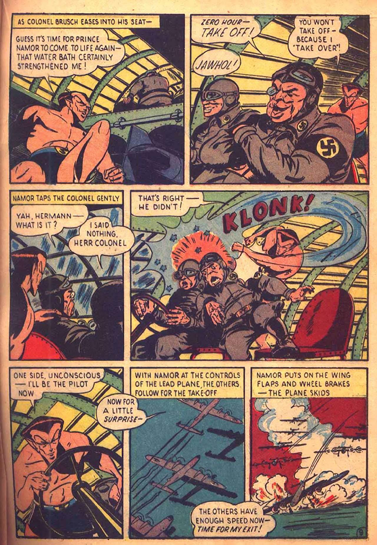 Read online All-Winners Comics comic -  Issue #9 - 36