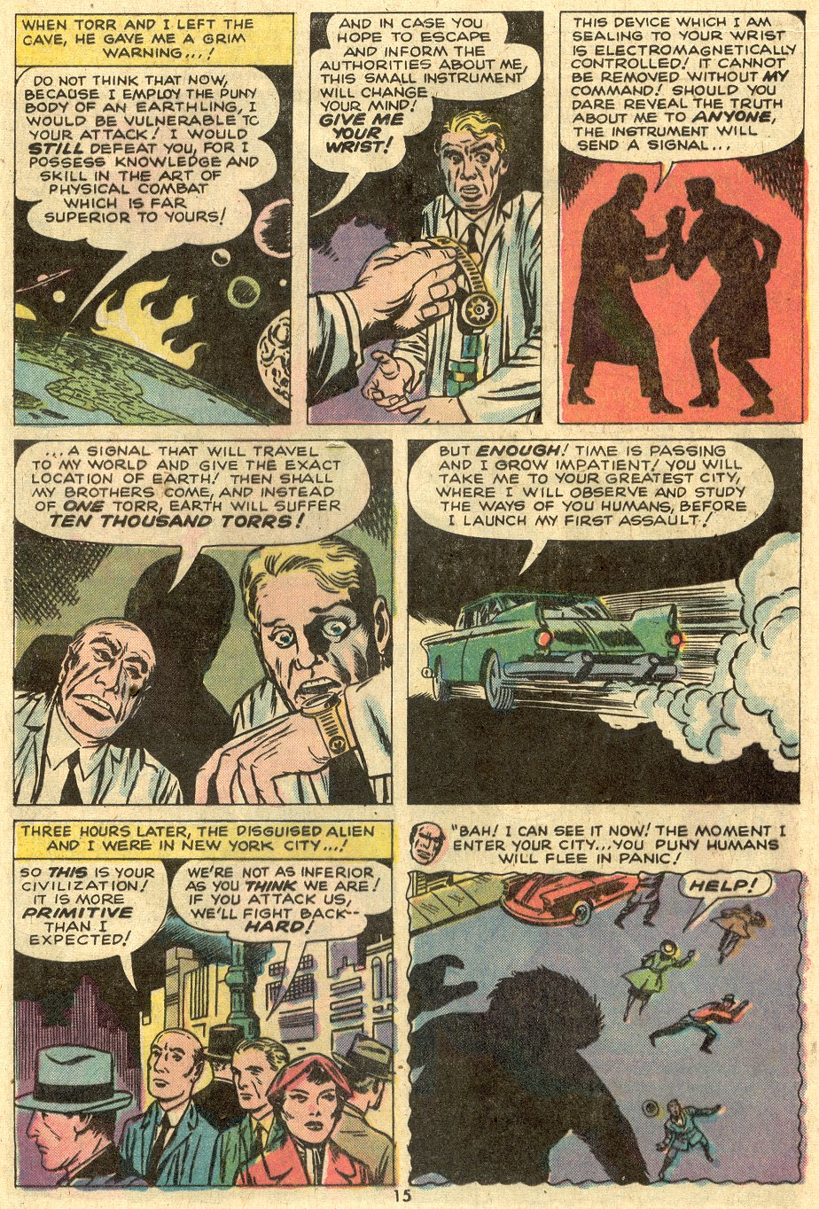 Strange Tales (1951) issue 175 - Page 10