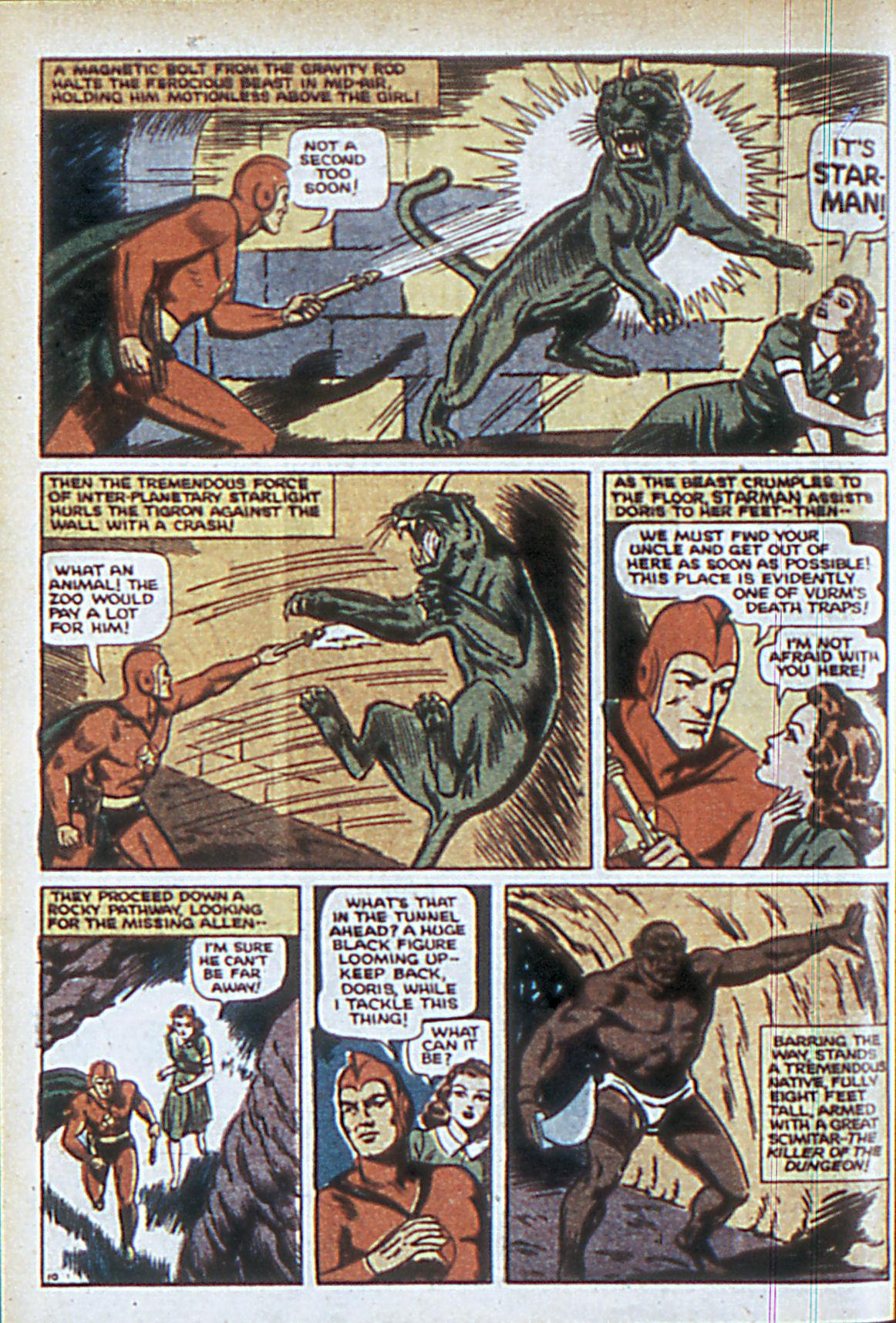 Read online Adventure Comics (1938) comic -  Issue #63 - 13