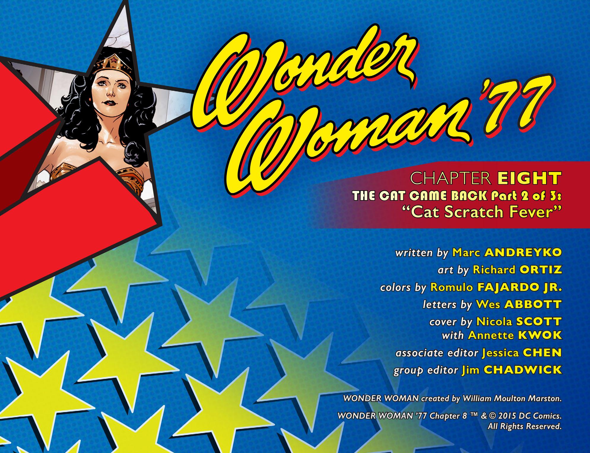 Read online Wonder Woman '77 [I] comic -  Issue #8 - 2