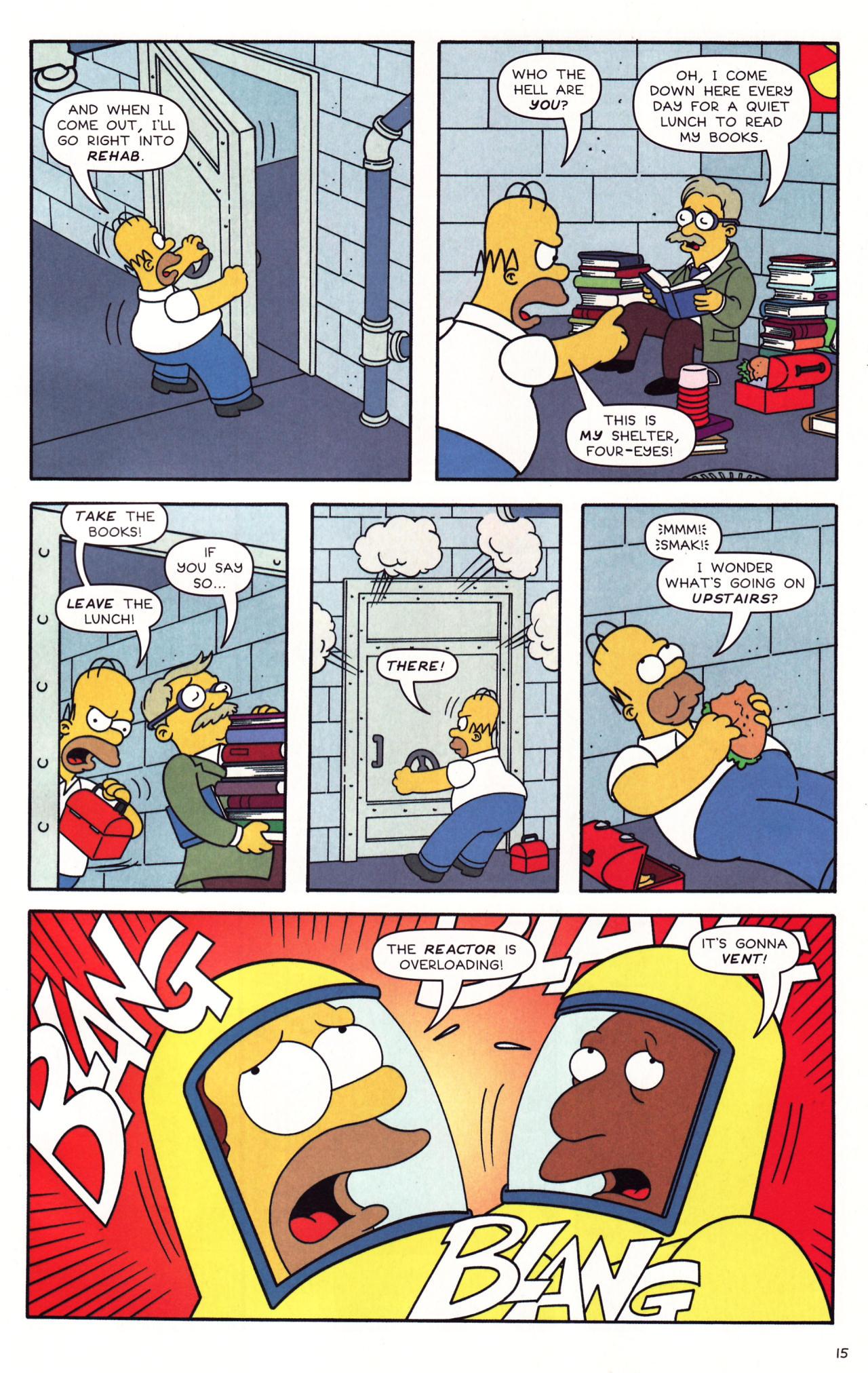 Read online Simpsons Comics comic -  Issue #137 - 12