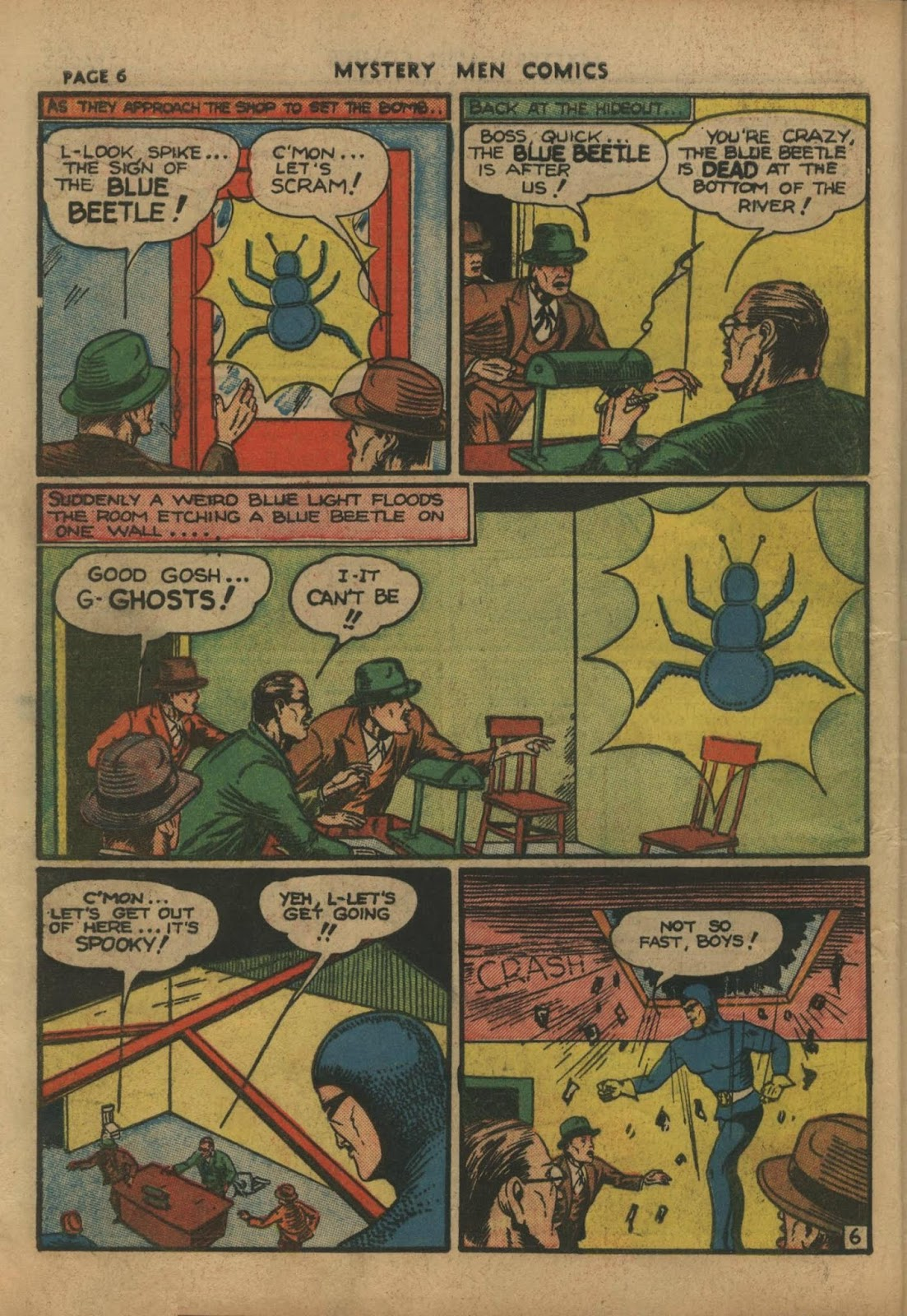 Mystery Men Comics issue 10 - Page 8