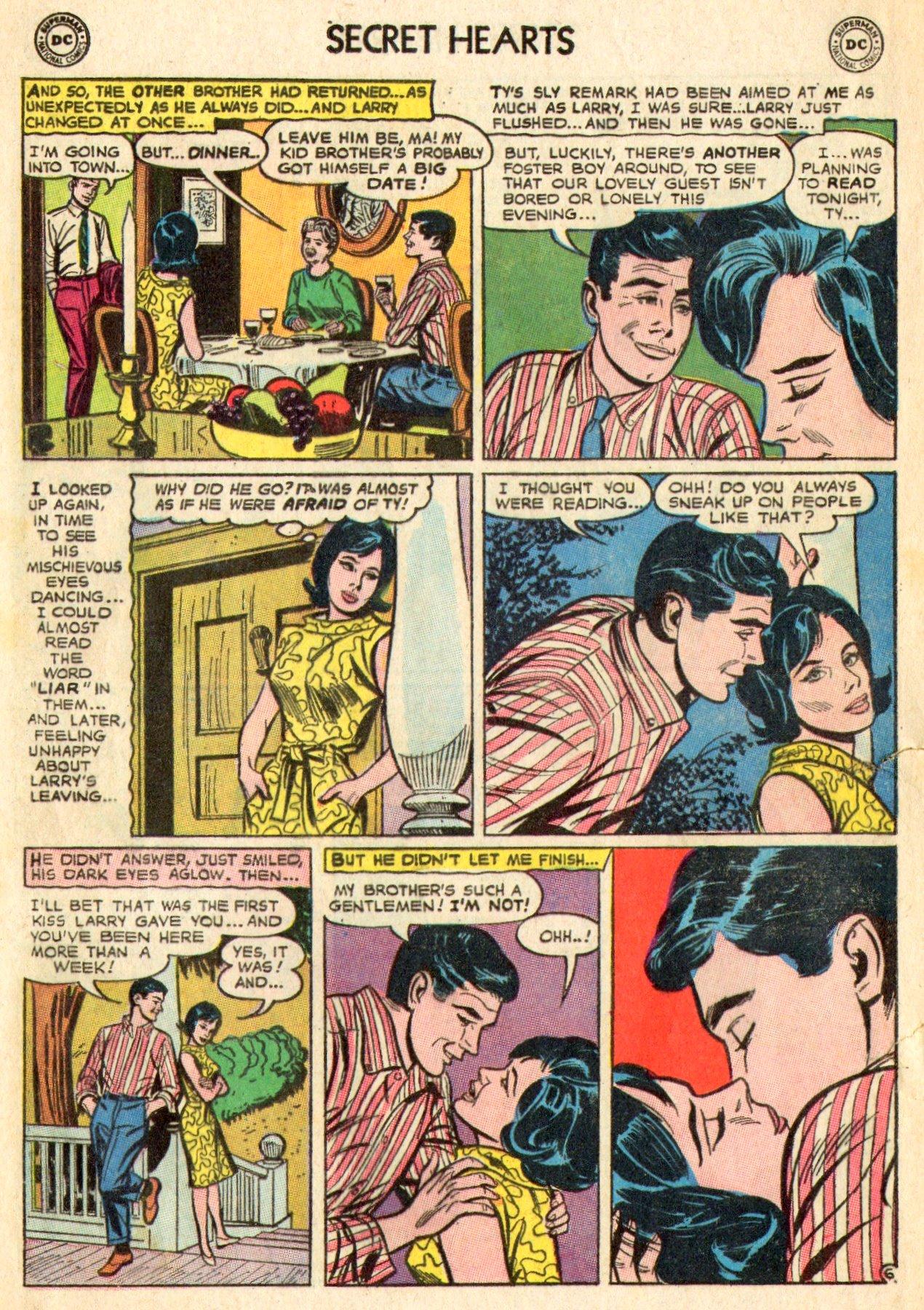 Read online Secret Hearts comic -  Issue #101 - 8