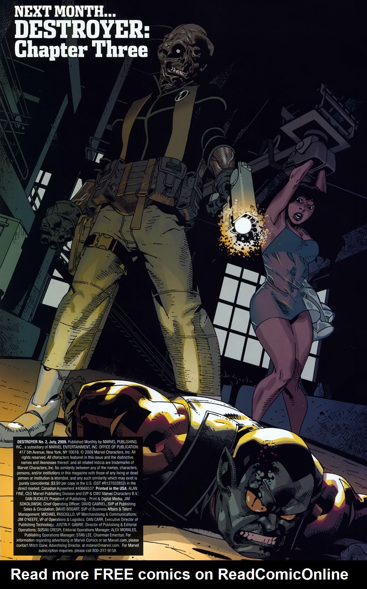 Read online Destroyer comic -  Issue #2 - 23