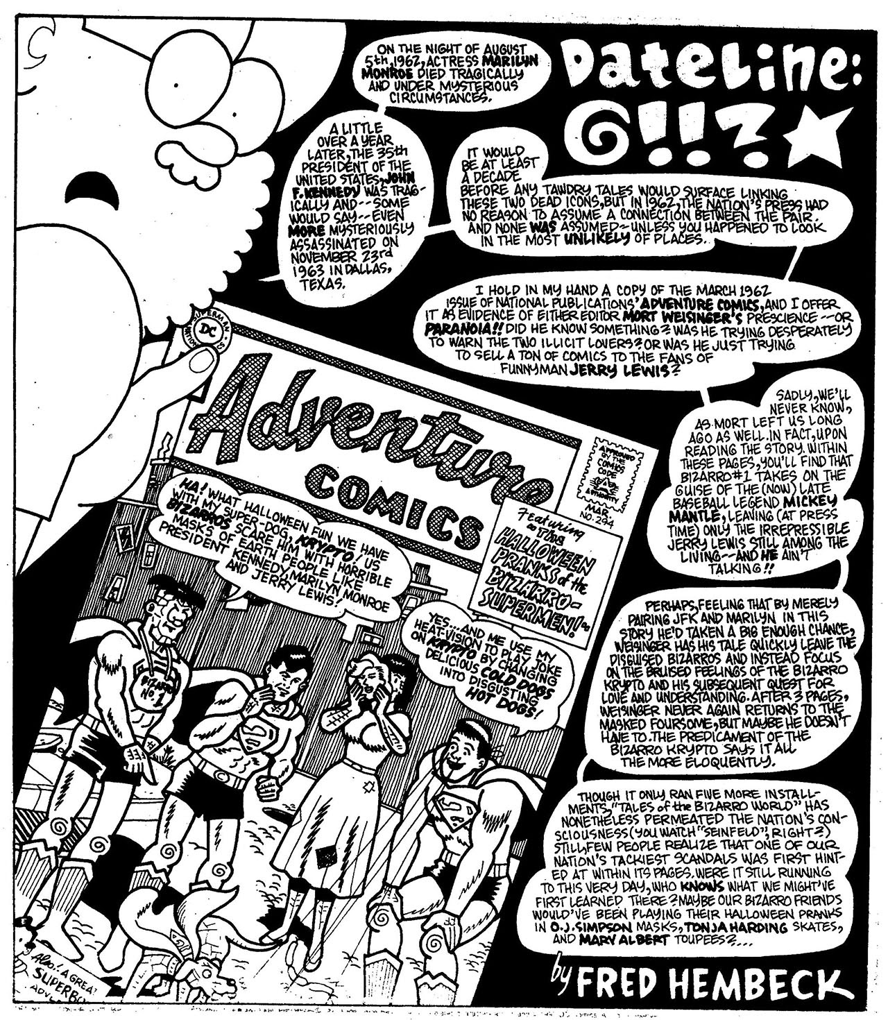 Read online The Nearly Complete Essential Hembeck Archives Omnibus comic -  Issue # TPB (Part 7) - 36