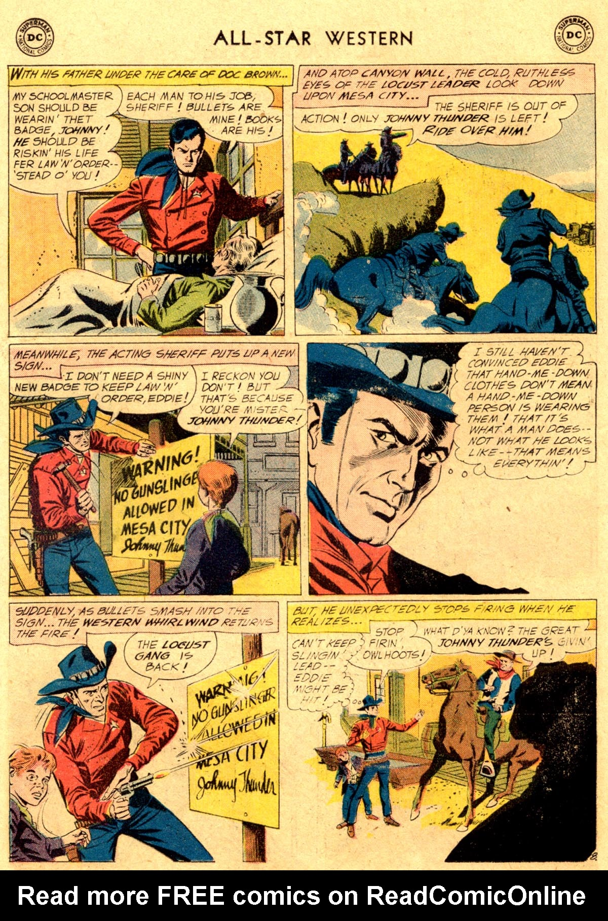 Read online All-Star Western (1951) comic -  Issue #112 - 10