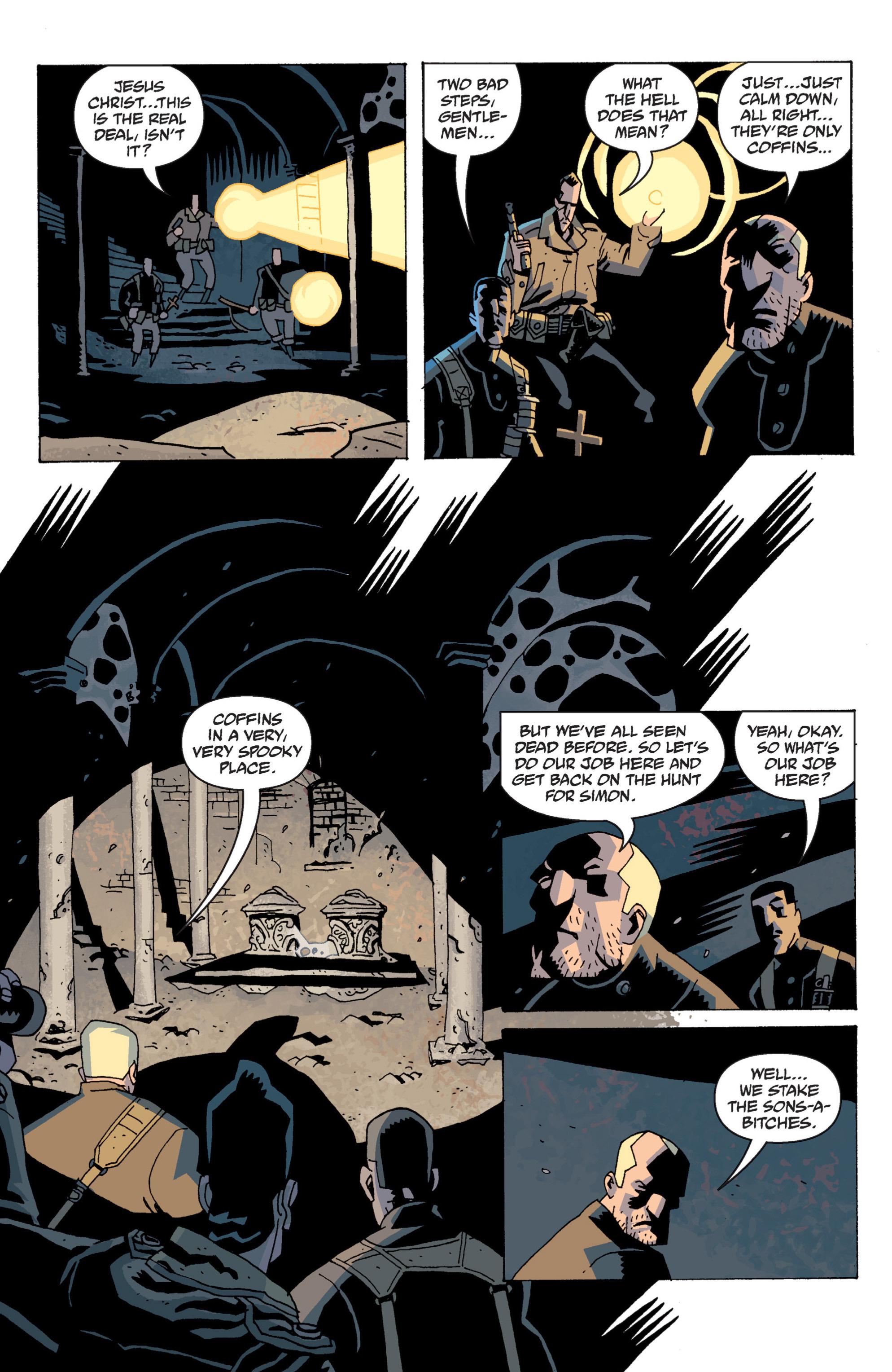 Read online B.P.R.D. (2003) comic -  Issue # TPB 13 - 60