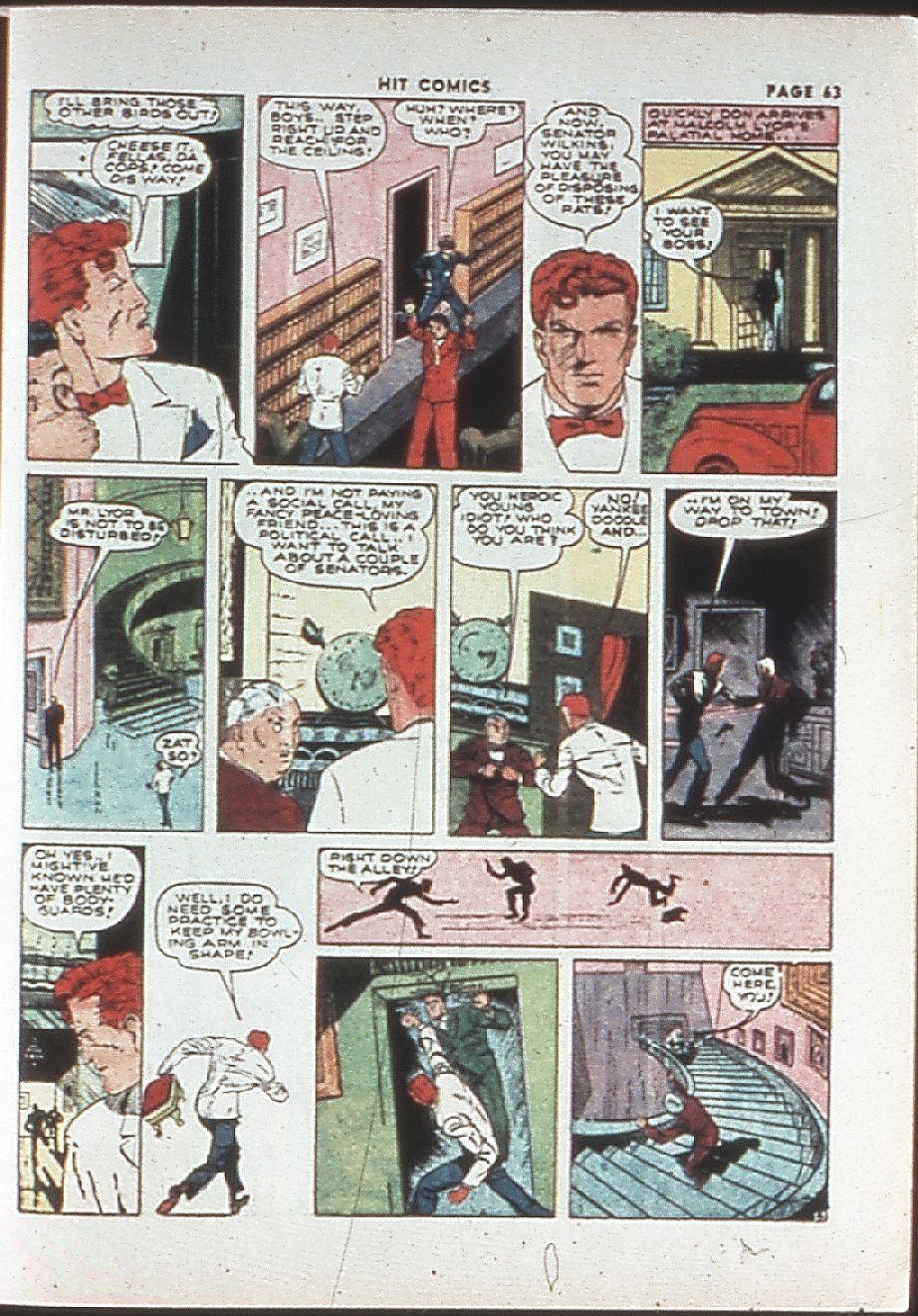 Read online Hit Comics comic -  Issue #10 - 65