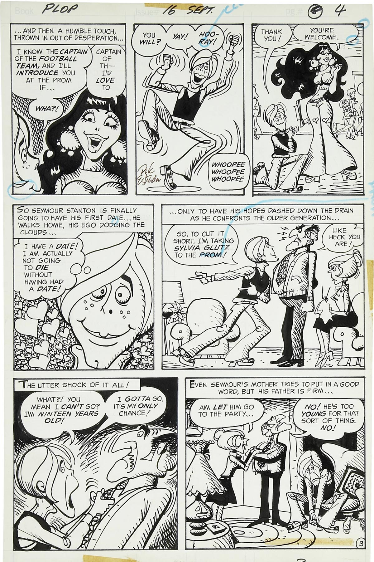 Read online Plop! comic -  Issue #16 - 9
