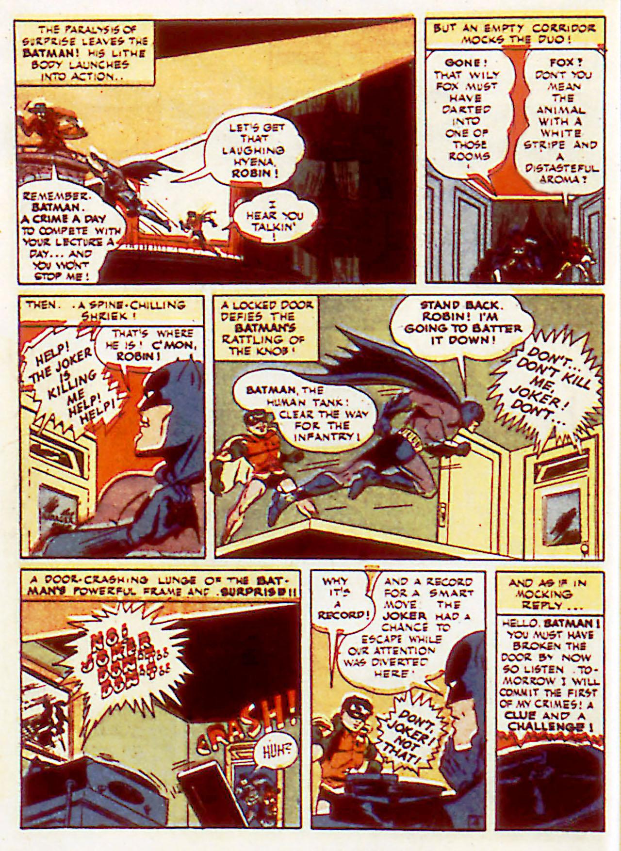 Read online Detective Comics (1937) comic -  Issue #71 - 6