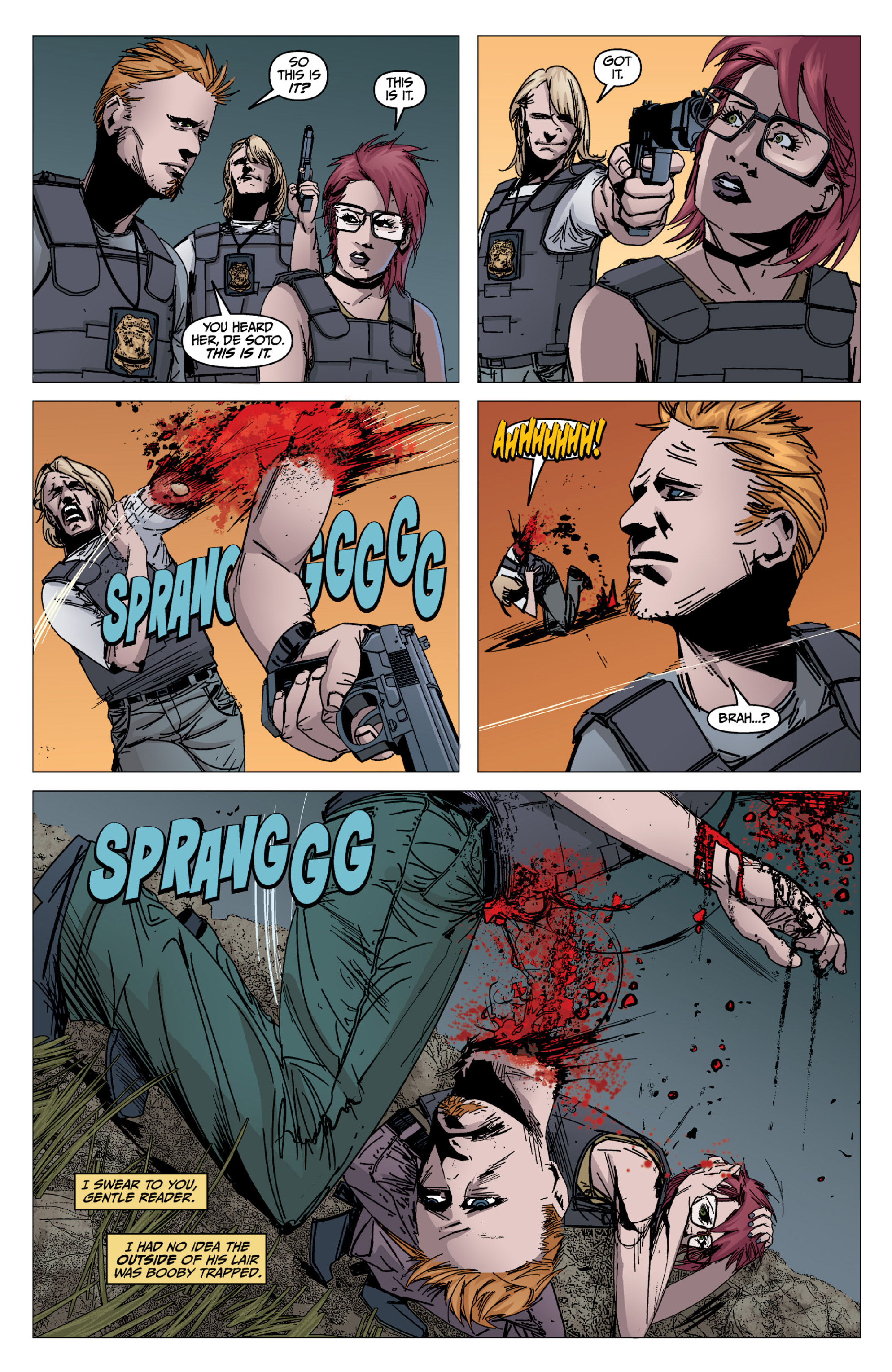 Read online X: Big Bad comic -  Issue # Full - 97