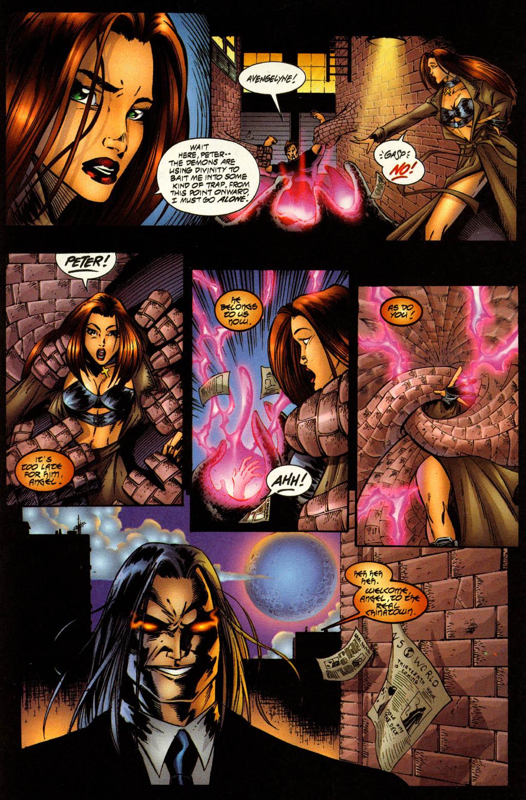 Read online Avengelyne (1996) comic -  Issue #7 - 8