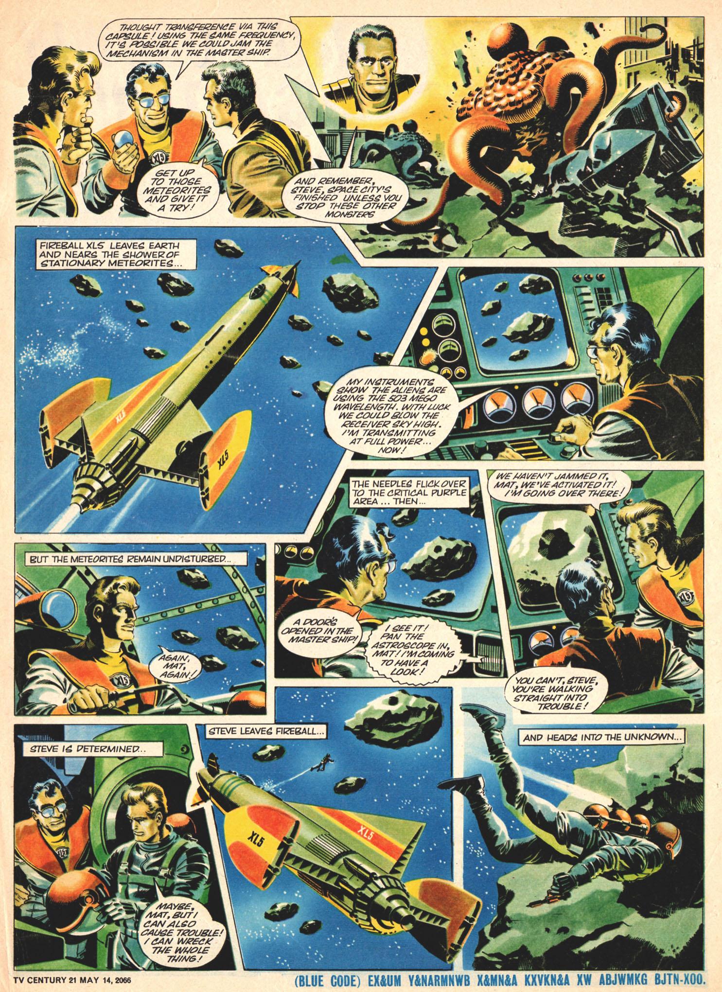 Read online TV Century 21 (TV 21) comic -  Issue #69 - 16