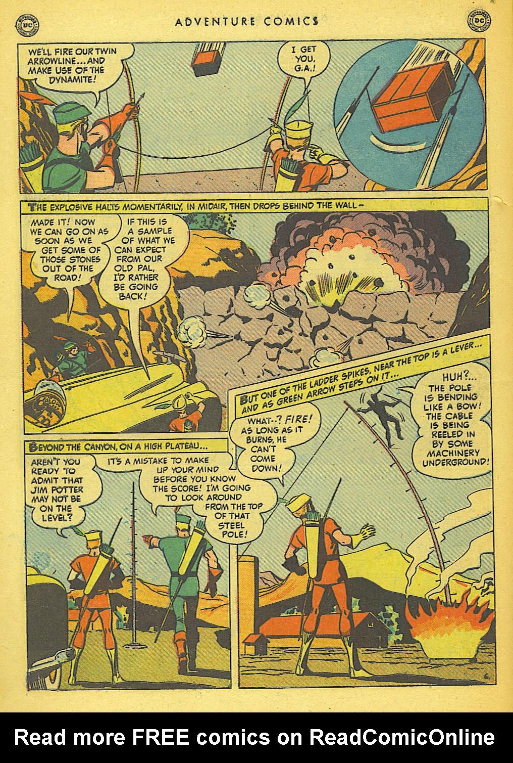 Read online Adventure Comics (1938) comic -  Issue #155 - 44