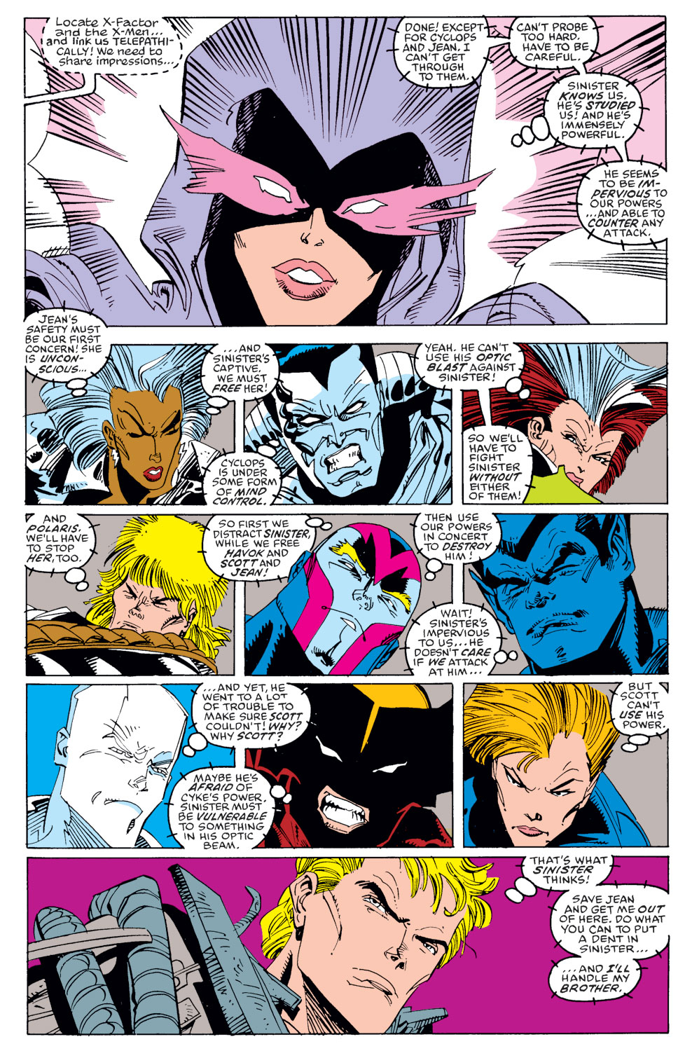 Read online X-Factor (1986) comic -  Issue #39 - 14