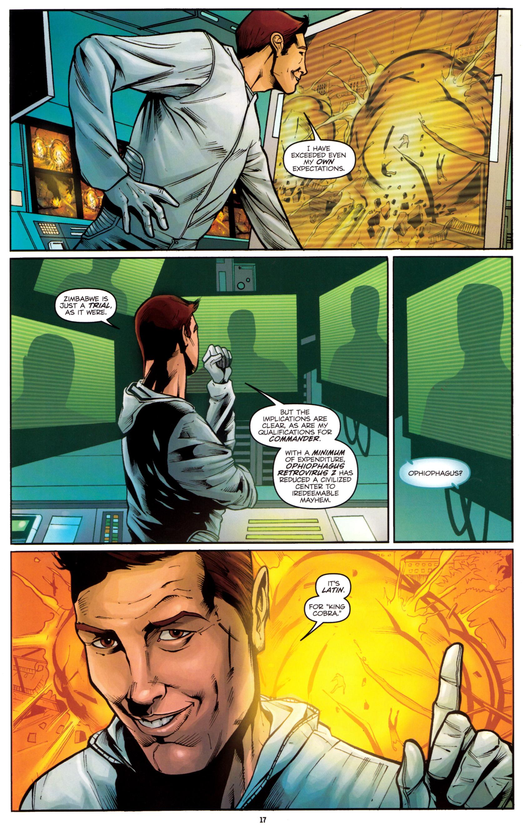 Read online G.I. Joe: Snake Eyes comic -  Issue #5 - 20