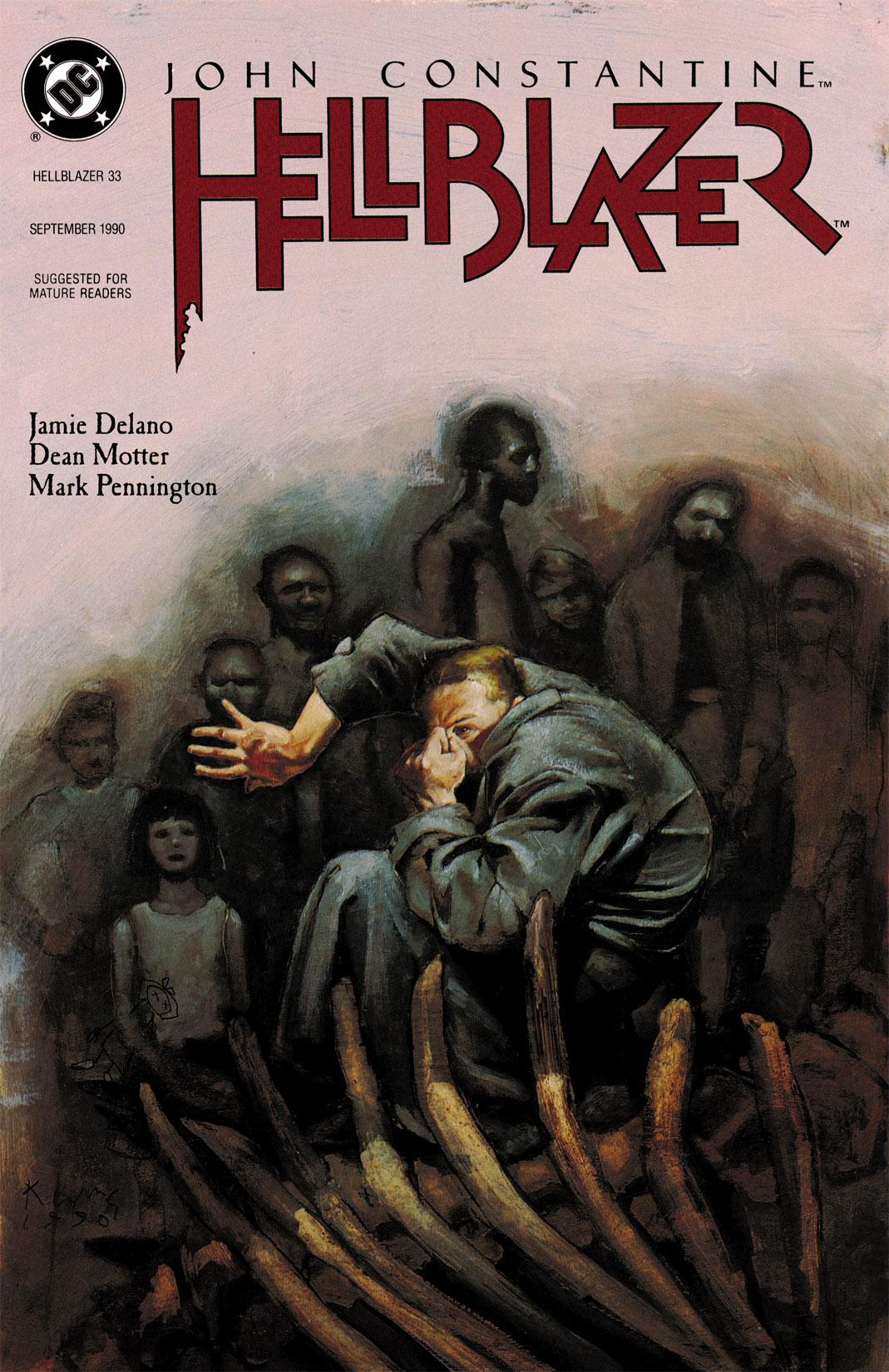 Hellblazer issue 33 - Page 1